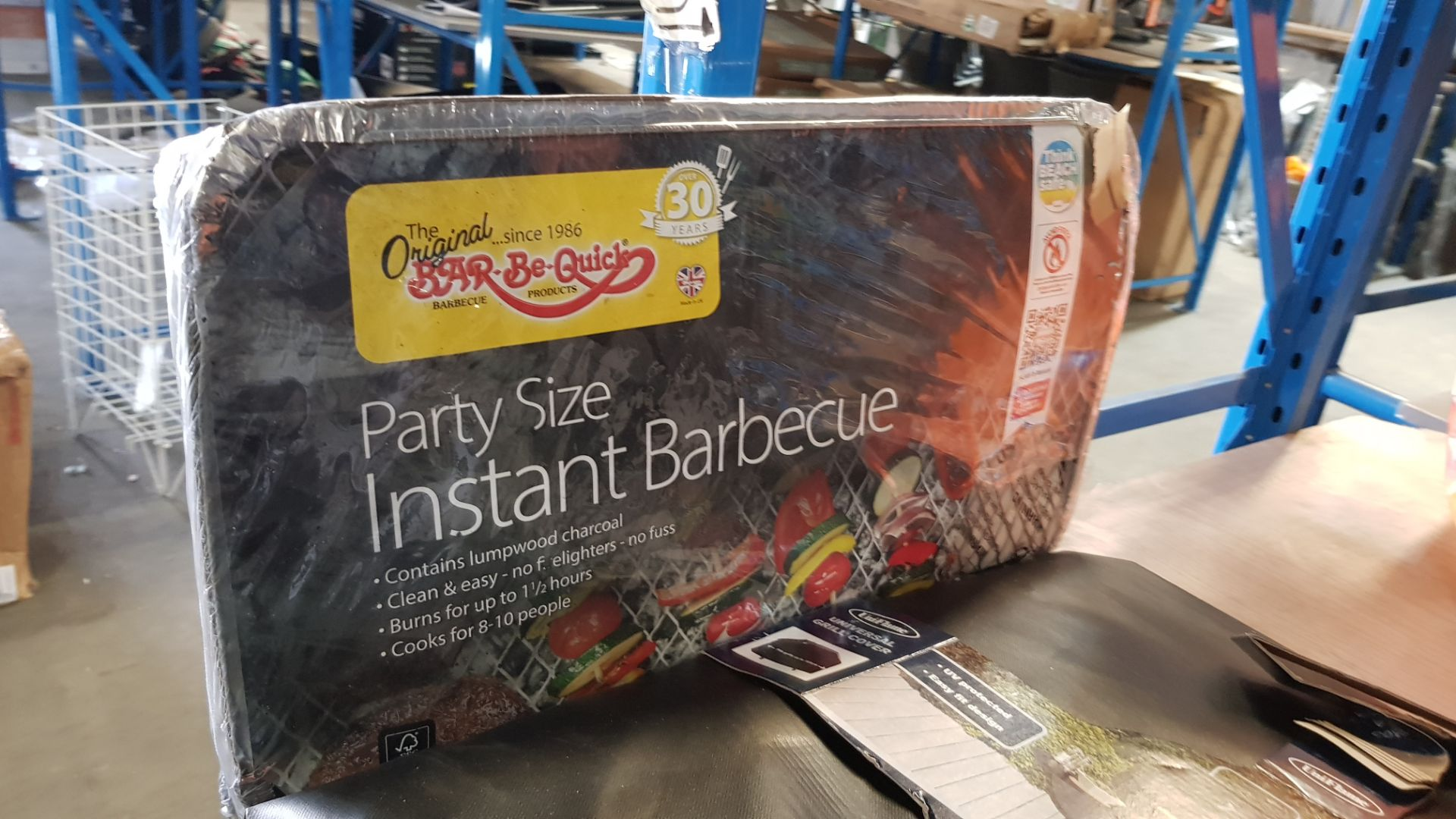 (3H) 4x BBQ Items. 1x Expert Grill The Big Portable Grill. 1x Expert Grill 75cm Barrell BBQ. 1x - Image 9 of 9