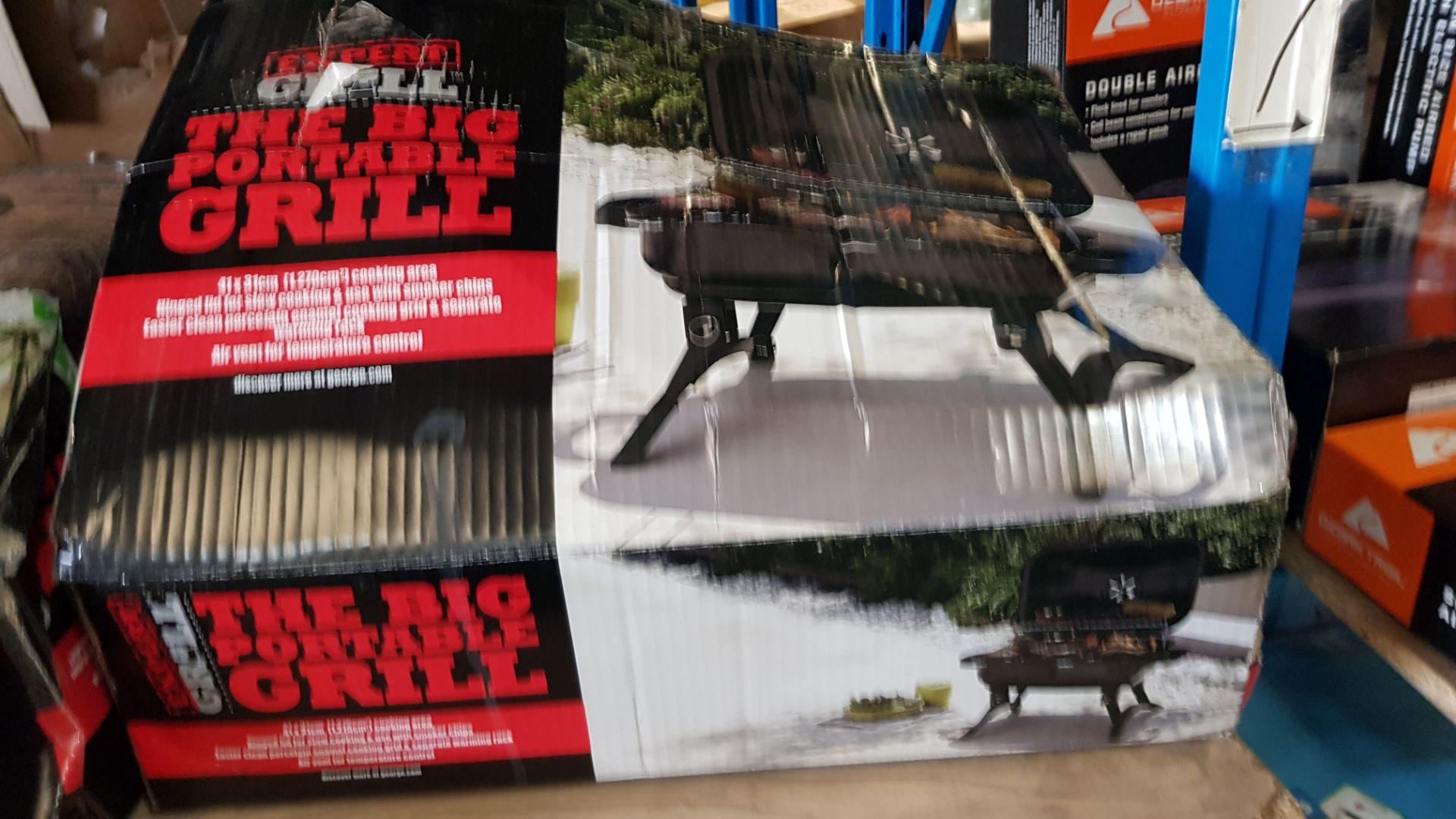(3H) 4x BBQ Items. 1x Expert Grill The Big Portable Grill. 1x Expert Grill 75cm Barrell BBQ. 1x - Image 7 of 9