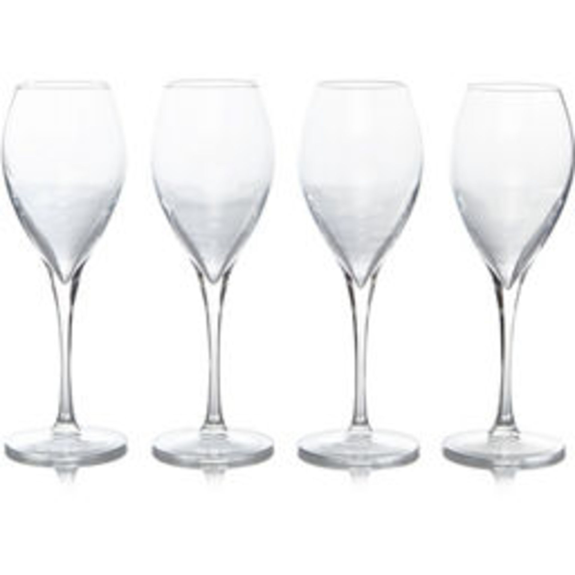 Glass Lot – Approx. 65x Items. To Include 16x Wine Glasses. 3x Large Gin Glasses. 12x Soda Glasses.