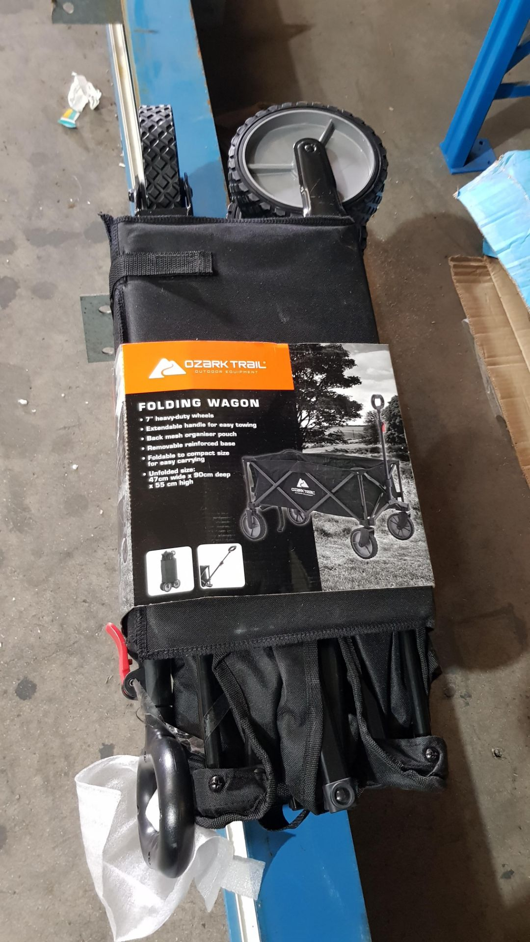 (3G) 7x Ozark Trail Items. 1x Queen Size Airbed. 2x Double Airbed. 2x Single Airbed (1x No Box). 1 - Image 9 of 10