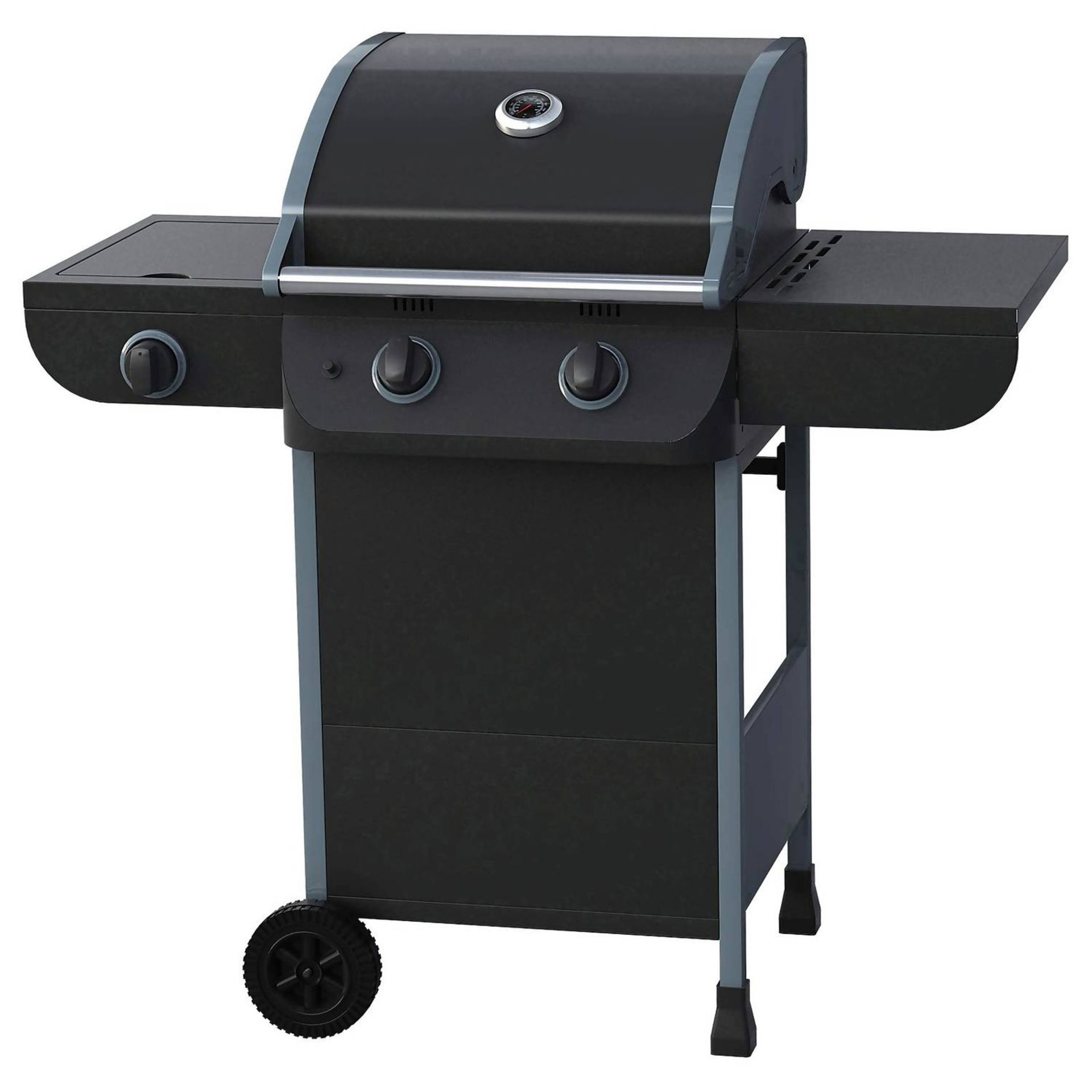 (P8) 1x Texas Nimbus 2 Burner Gas BBQ RRP £80. Contents Appear As New – Unused & Not Previously Re - Image 2 of 6