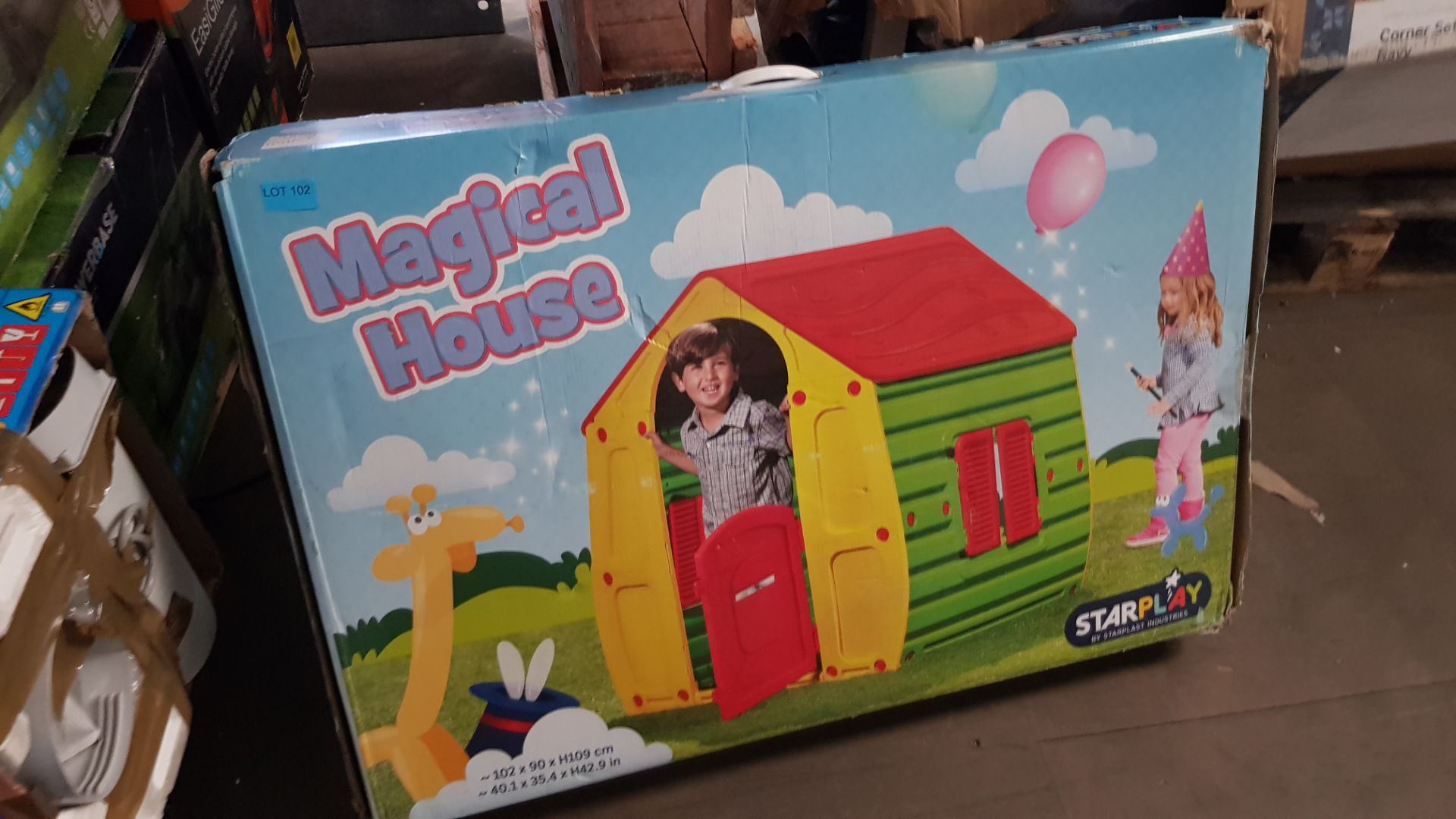 (P2) 1x Starplast Magical House (102x 90x H109cm) - Image 3 of 4
