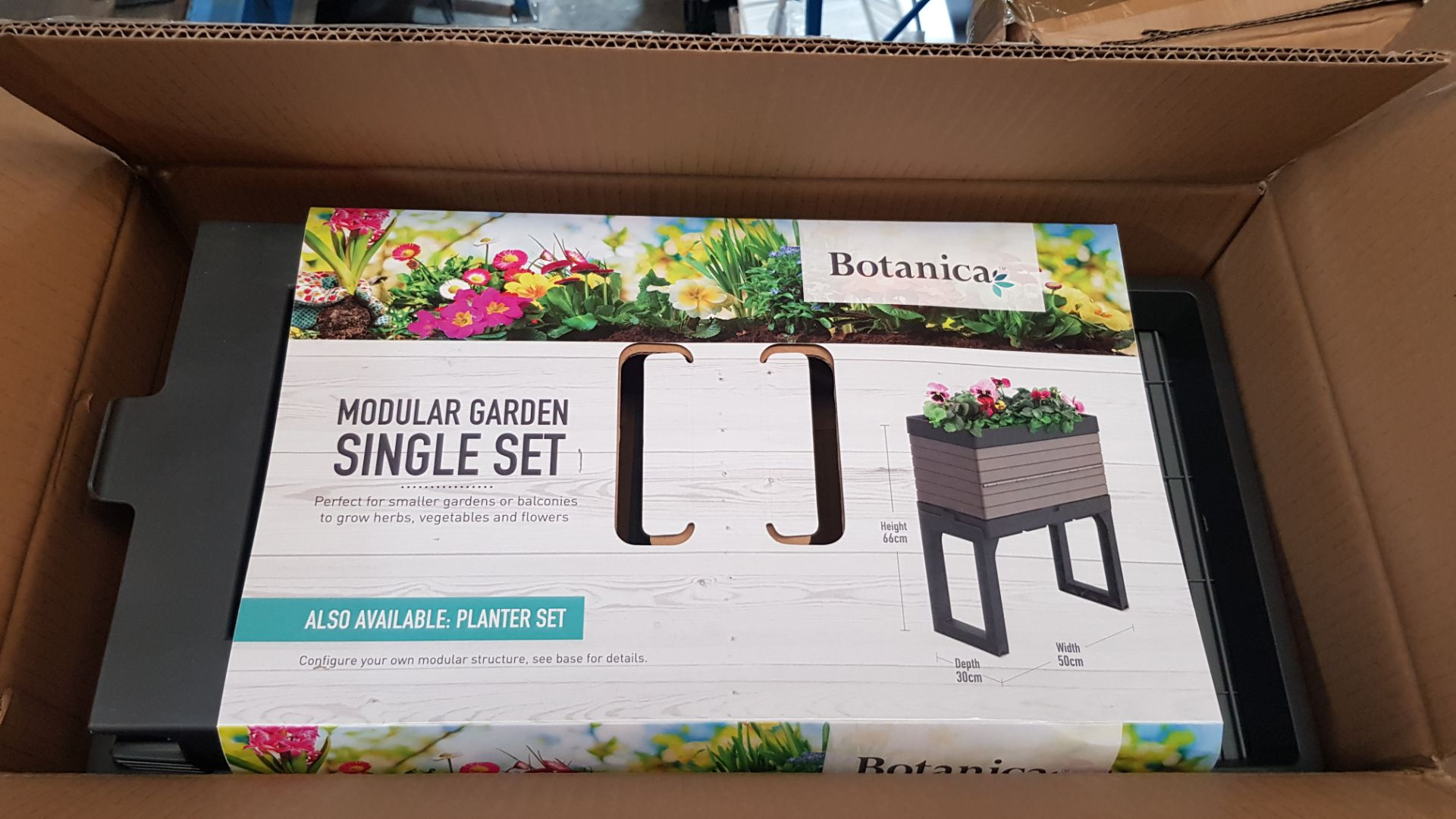 (P6) 2x Botanica Modular Garden Single Set Grey RRP £50 Each. New, Sealed Item. - Image 3 of 5