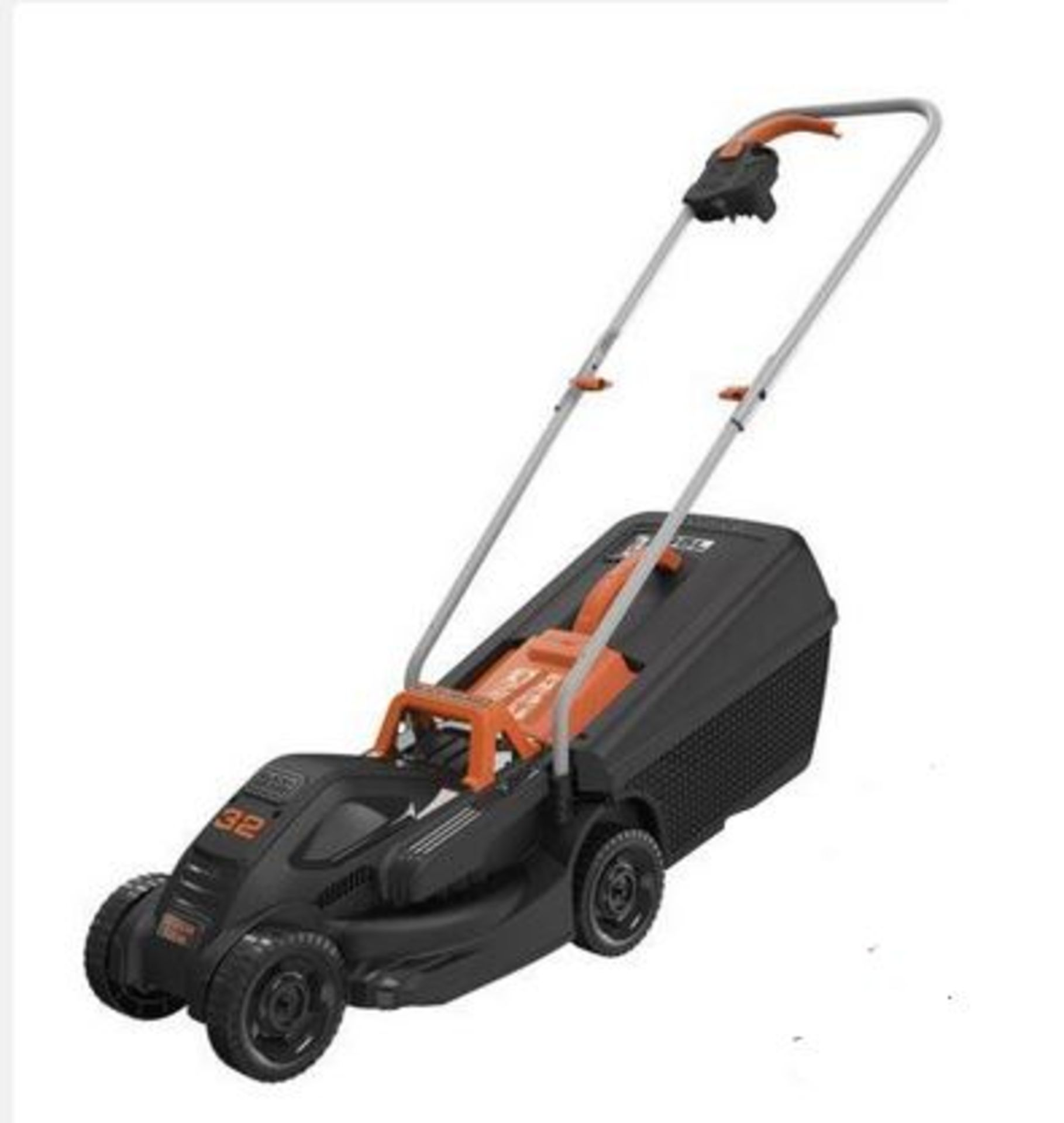 (P5) 1x Black & Decker 32cm 1000W Corded Lawn Mower. Contents Appear Clean, Unused. (Please Note – - Image 2 of 5