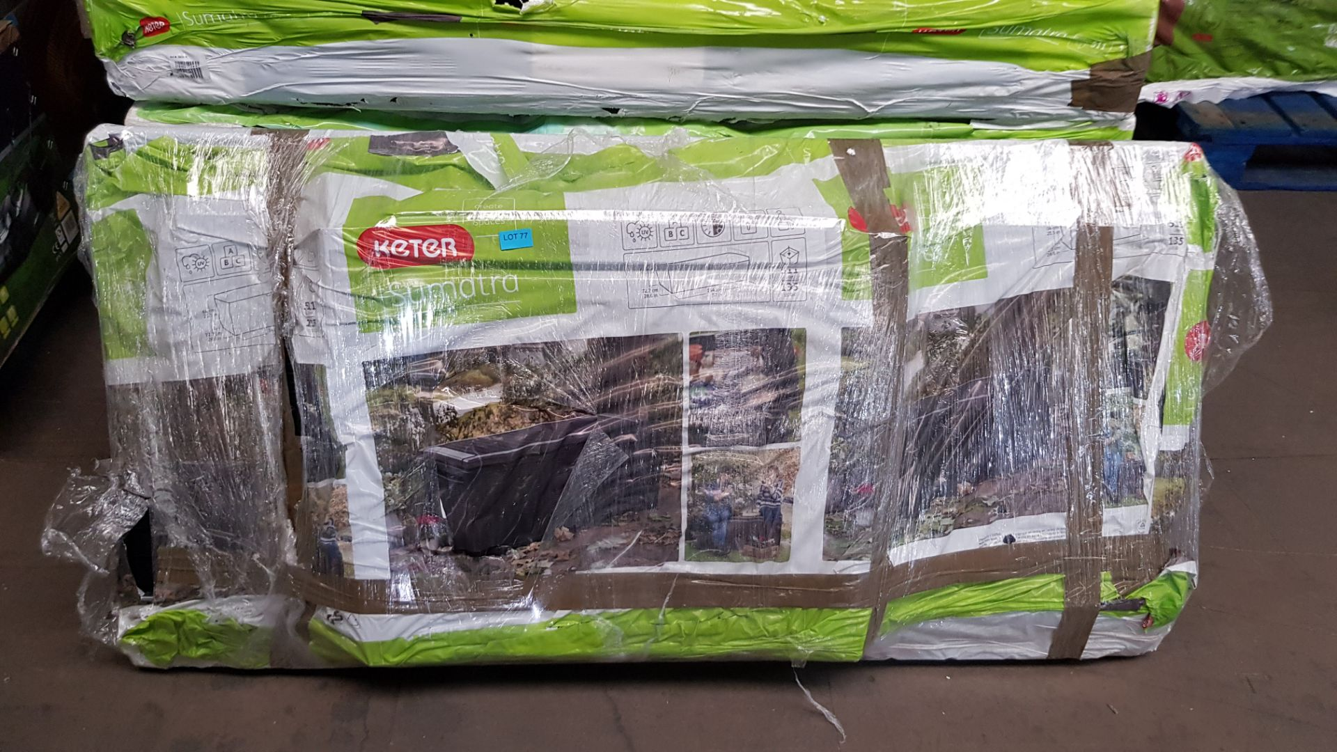 (P4) 1x Keter Sumatra 511L. RRP £149.95. (H64x W145x D73cm) - Image 3 of 3