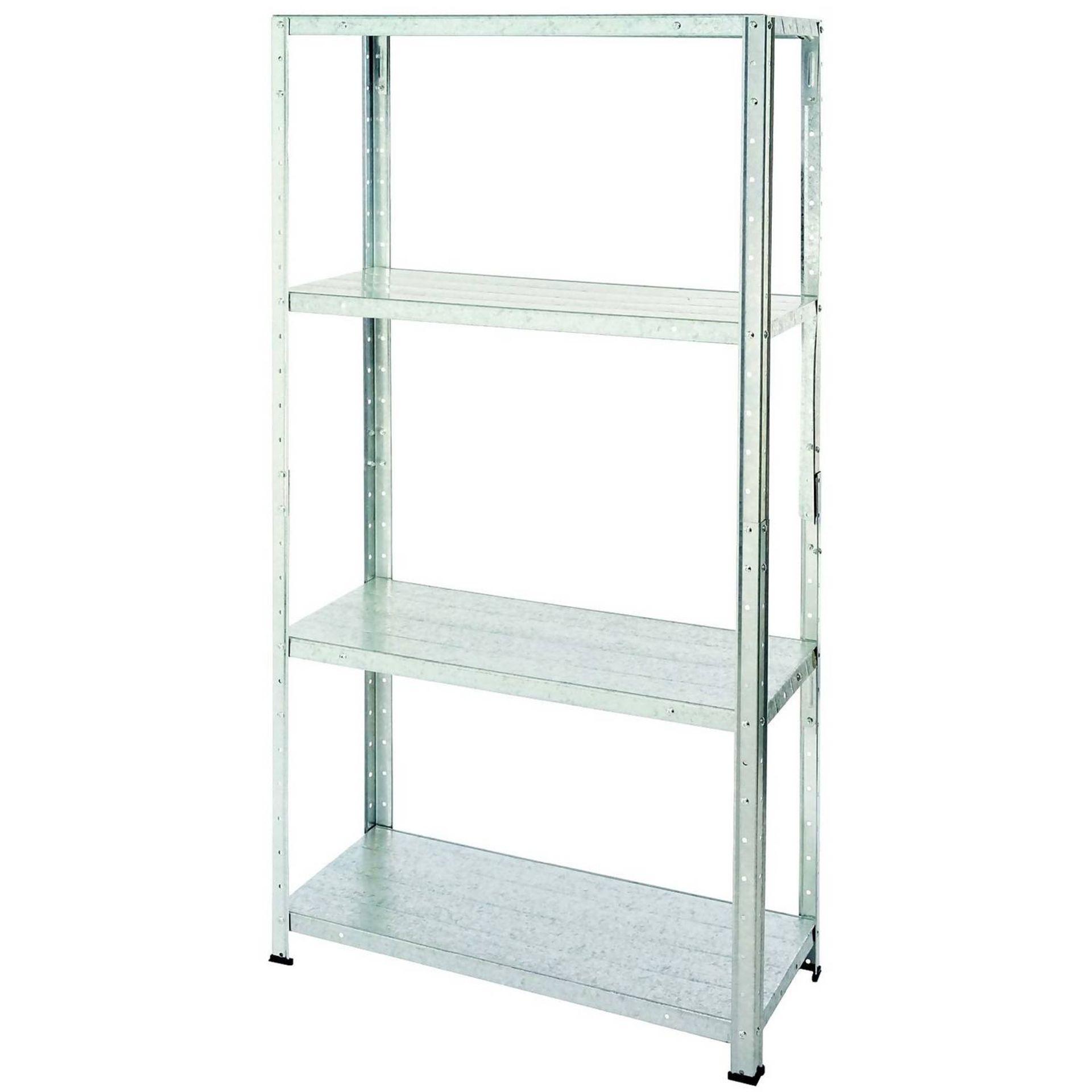 (3A) 3x Handy Storage Storage Unit Metal 4 Shelf (H1370x W710x D305mm) - Image 2 of 3