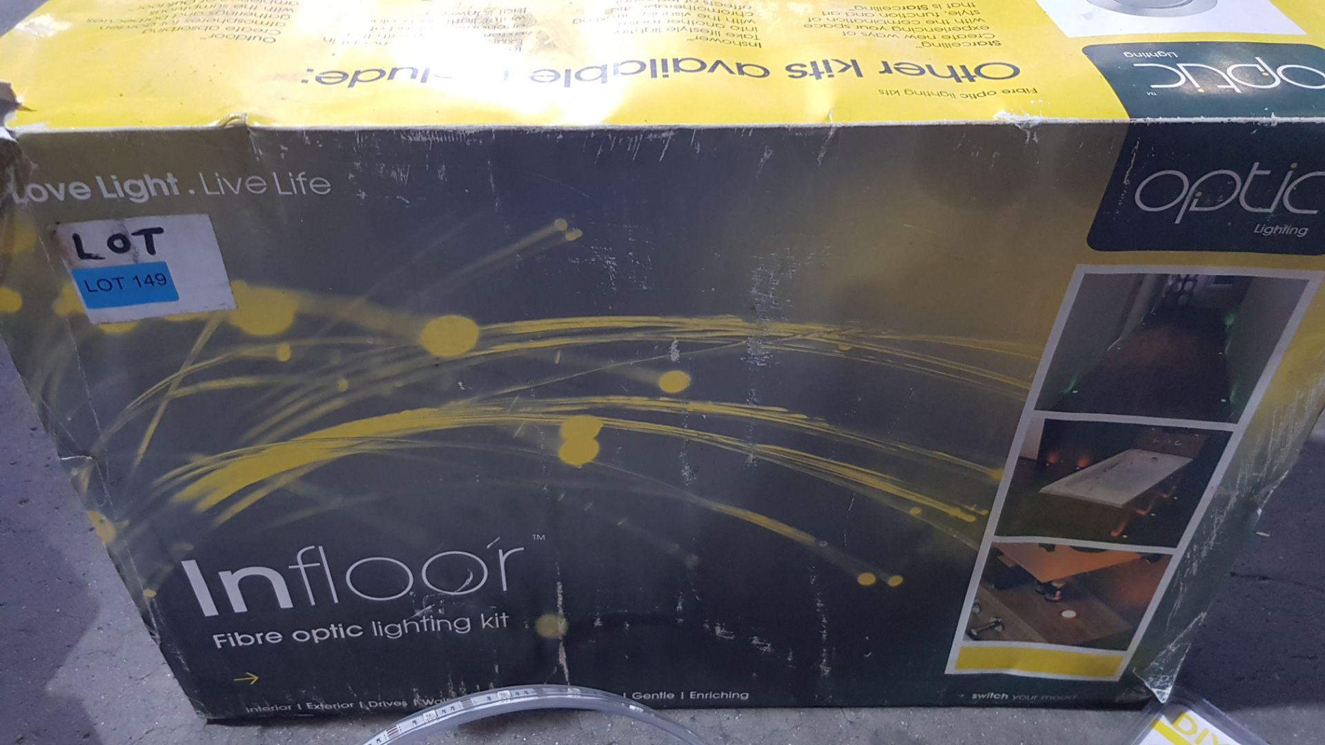 (3F) Fibre Optic / LED Lighting Lot. To Include 1x Optic Lighting InFloor Fibre Optic Lighting Kit. - Image 5 of 12