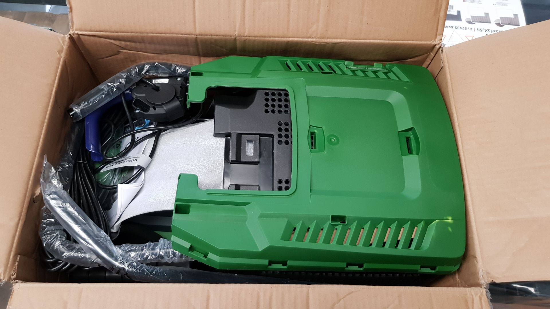 (P3) 1x Powerbase 32cm 1200W Electric Rotary Lawn Mower RRP £59. (Unit Appears Clean, Unused & As - Image 4 of 4