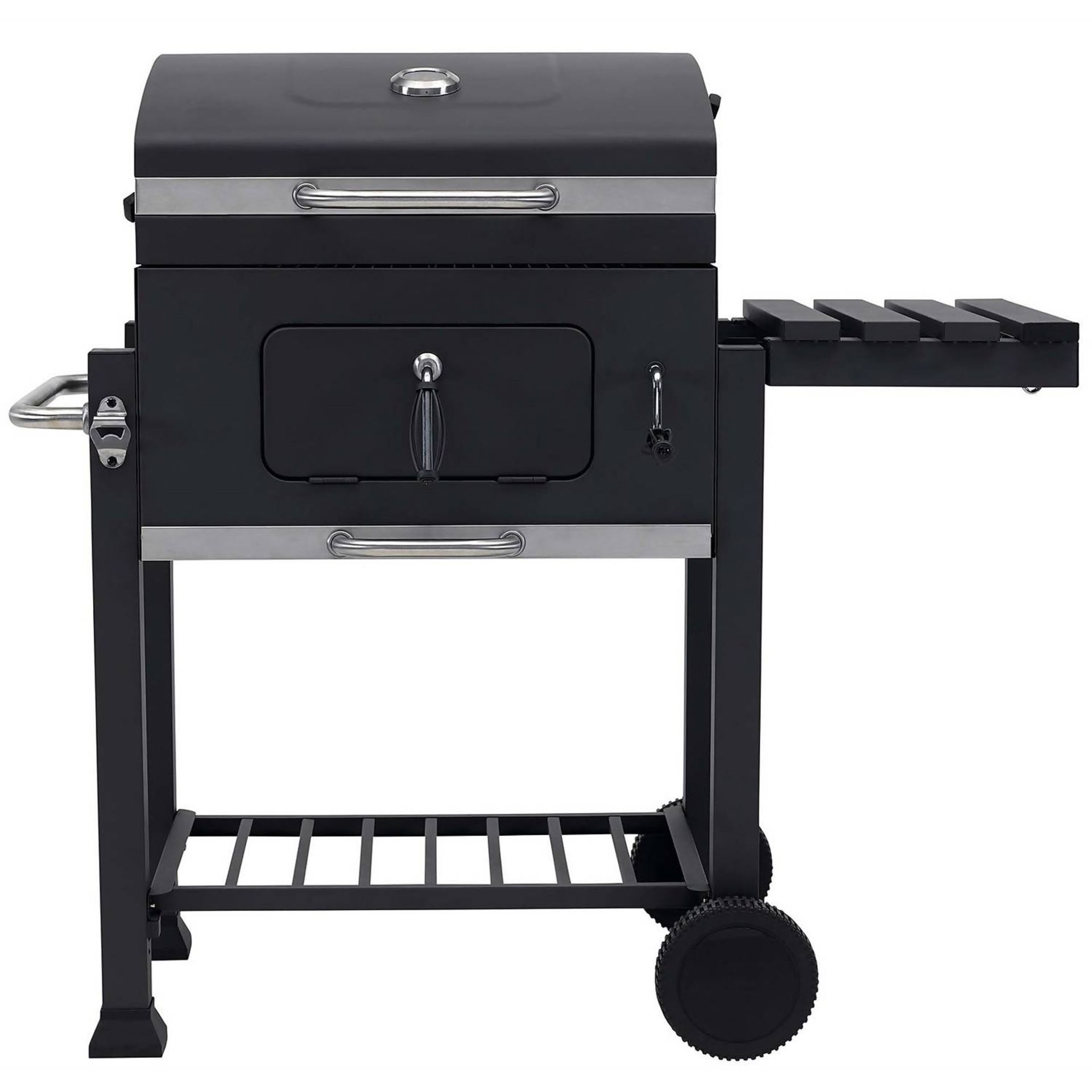 (P8) 1x Texas Franklin Charcoal BBQ. RRP £180.00. New, Sealed Unit With Slight Box Damage. - Image 2 of 3