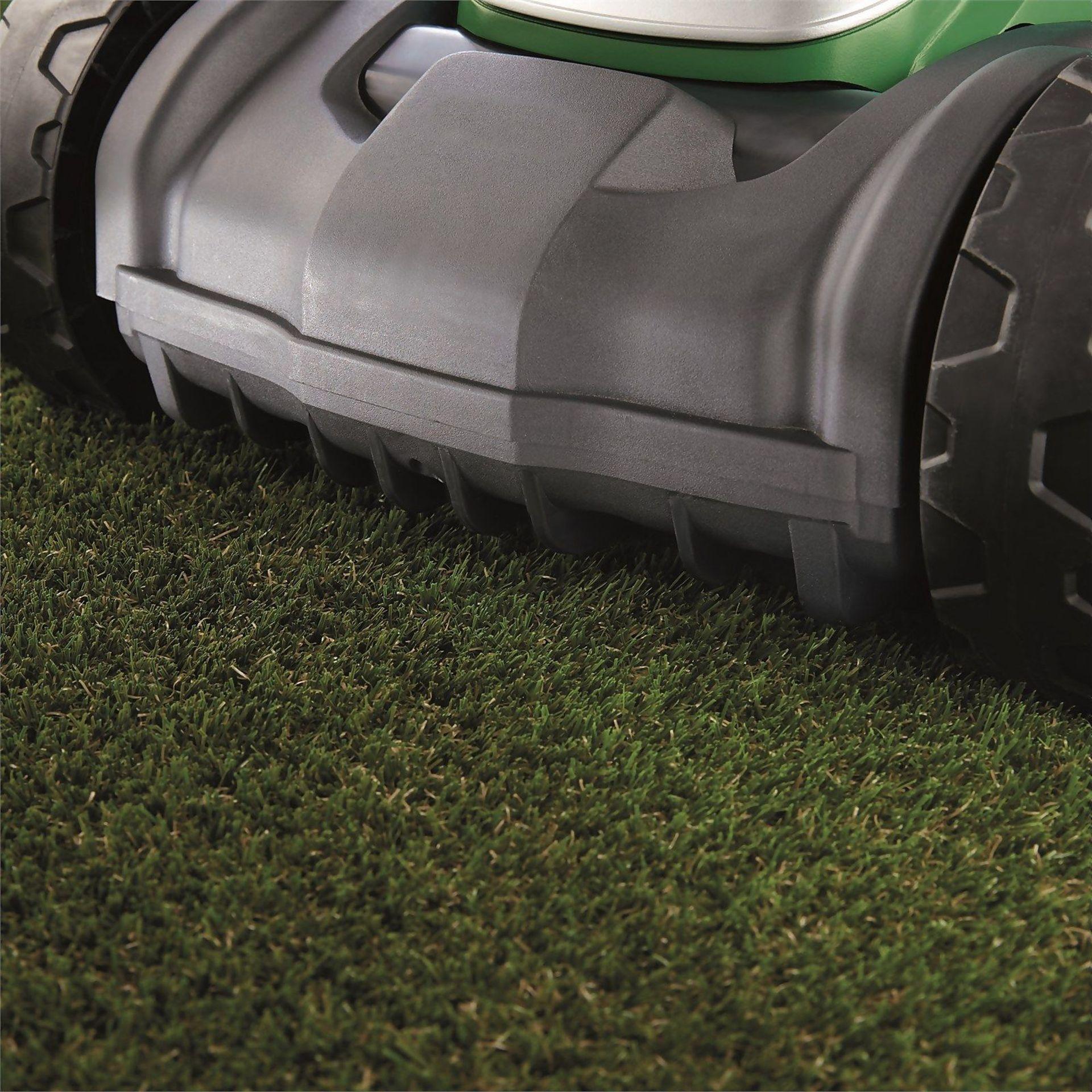 (P7) 1x Powerbase 37cm 40V Cordless Lawn Mower RRP £229. New, Sealed Unit. - Image 2 of 4