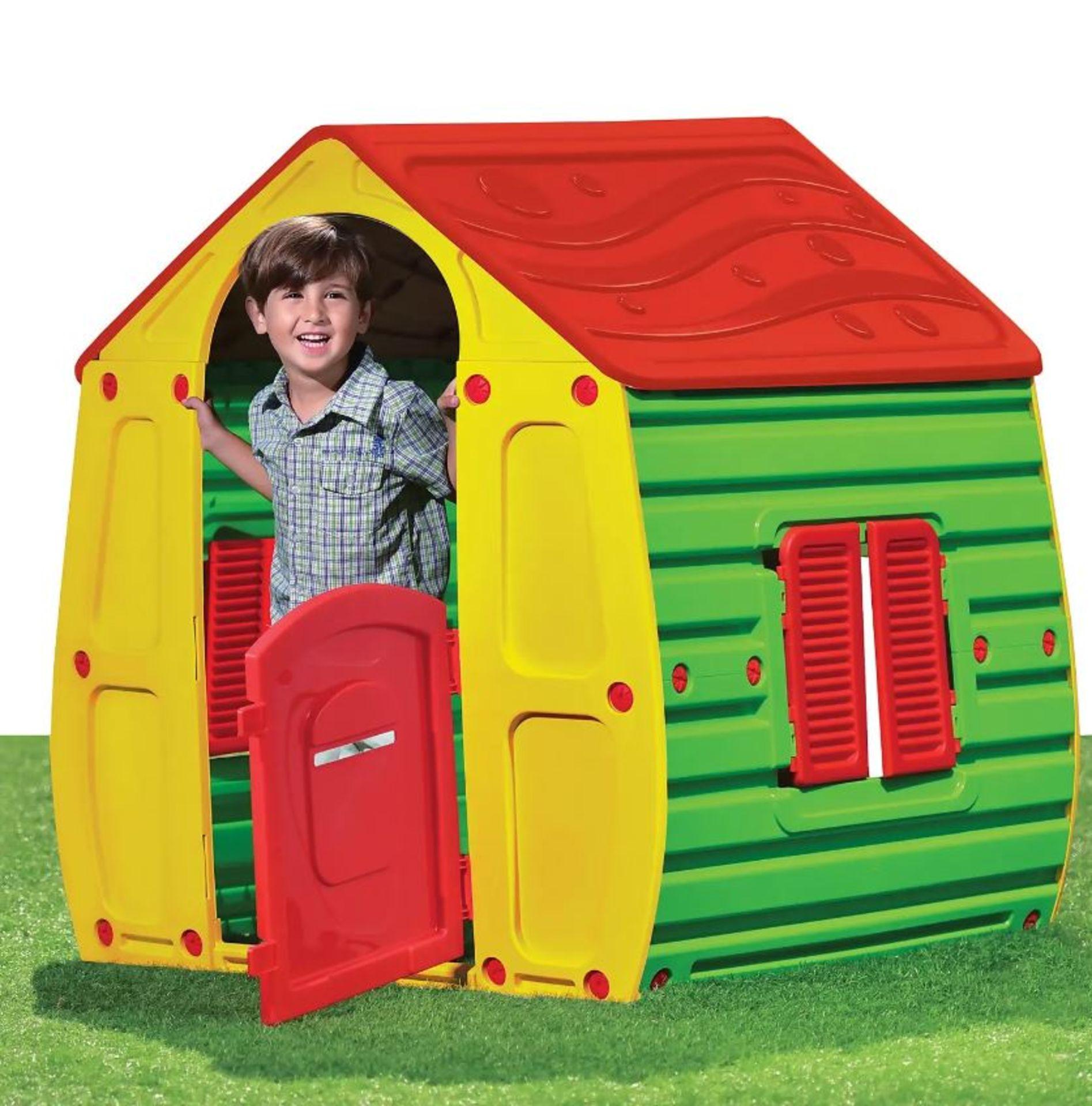 (P2) 1x Starplast Magical House (102x 90x H109cm)