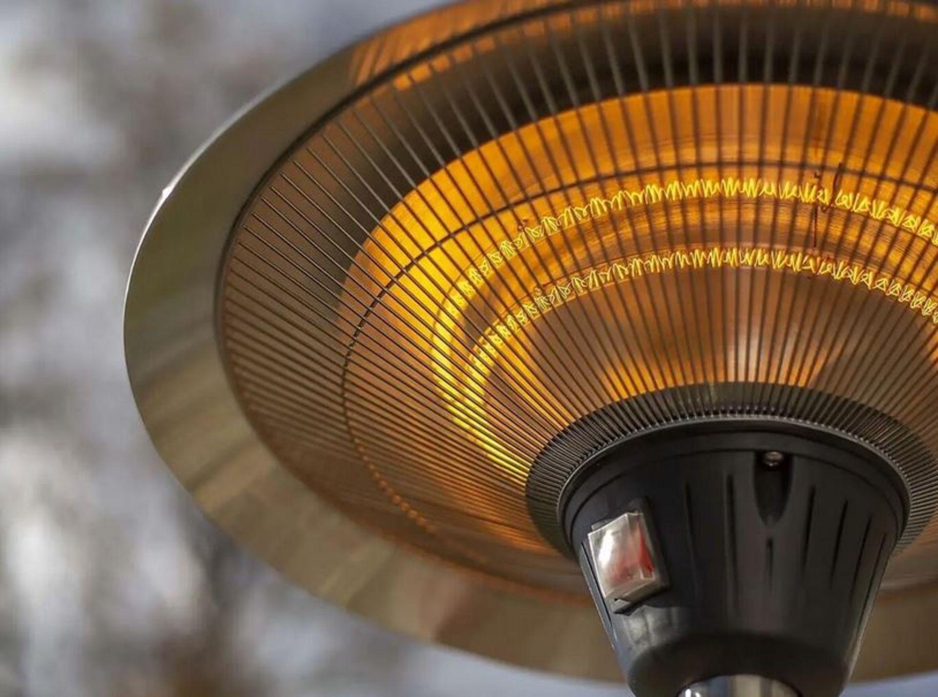 (P8) 1x La Hacienda Lume Standing Heater RRP £99.99. 3 Heater Settings: 900W, 1200W & 2100W (H205 - Image 2 of 3