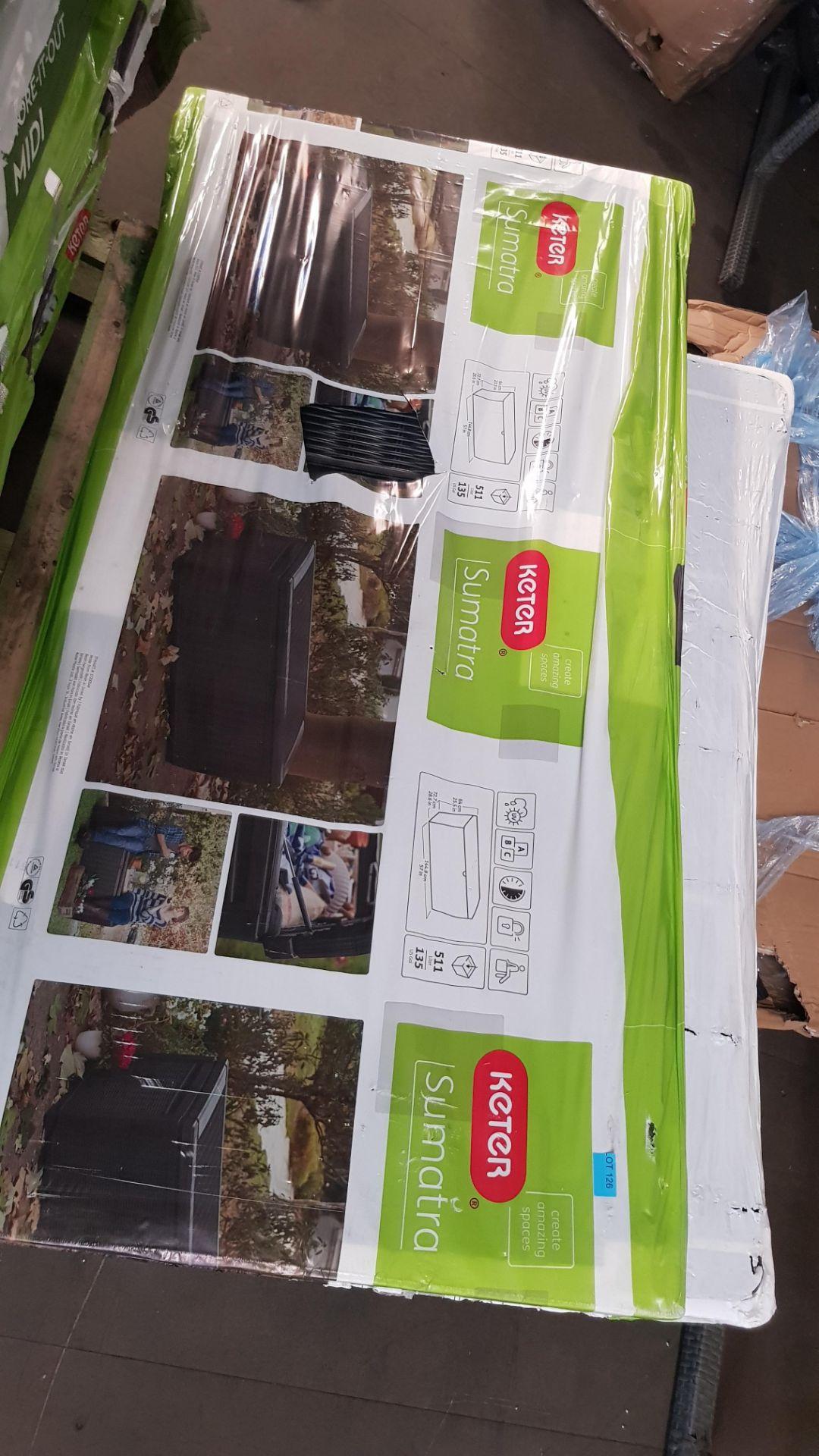 (P1) 1x Keter Sumatra 511L. RRP £149.95. (H64x W145x D73cm) - Image 3 of 5