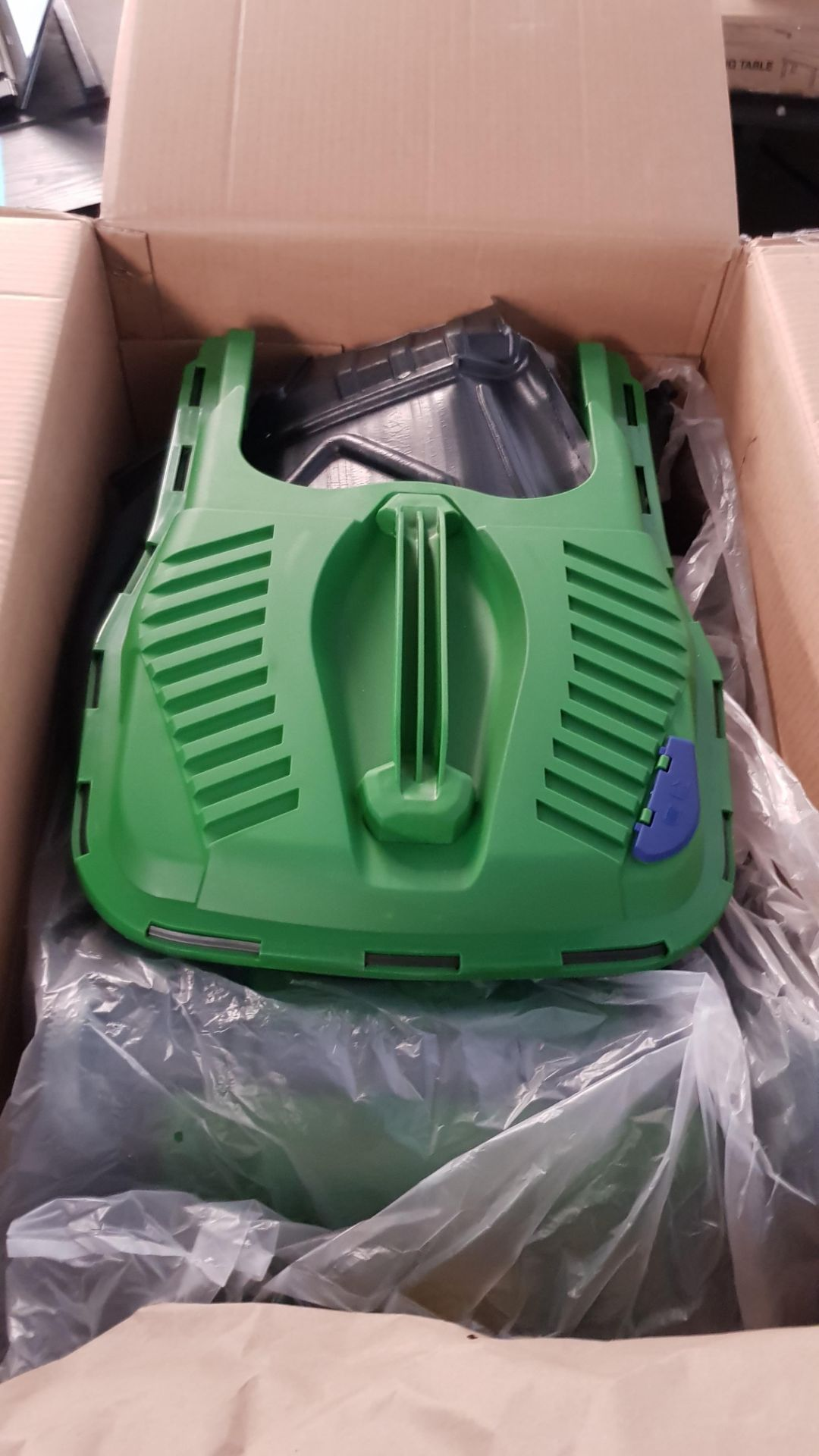 (P9) 1x Powerbase 37cm 40V Cordless Lawn Mower. RRP £199.00. Unit Appears Clean, As New & Unused. - Image 5 of 5