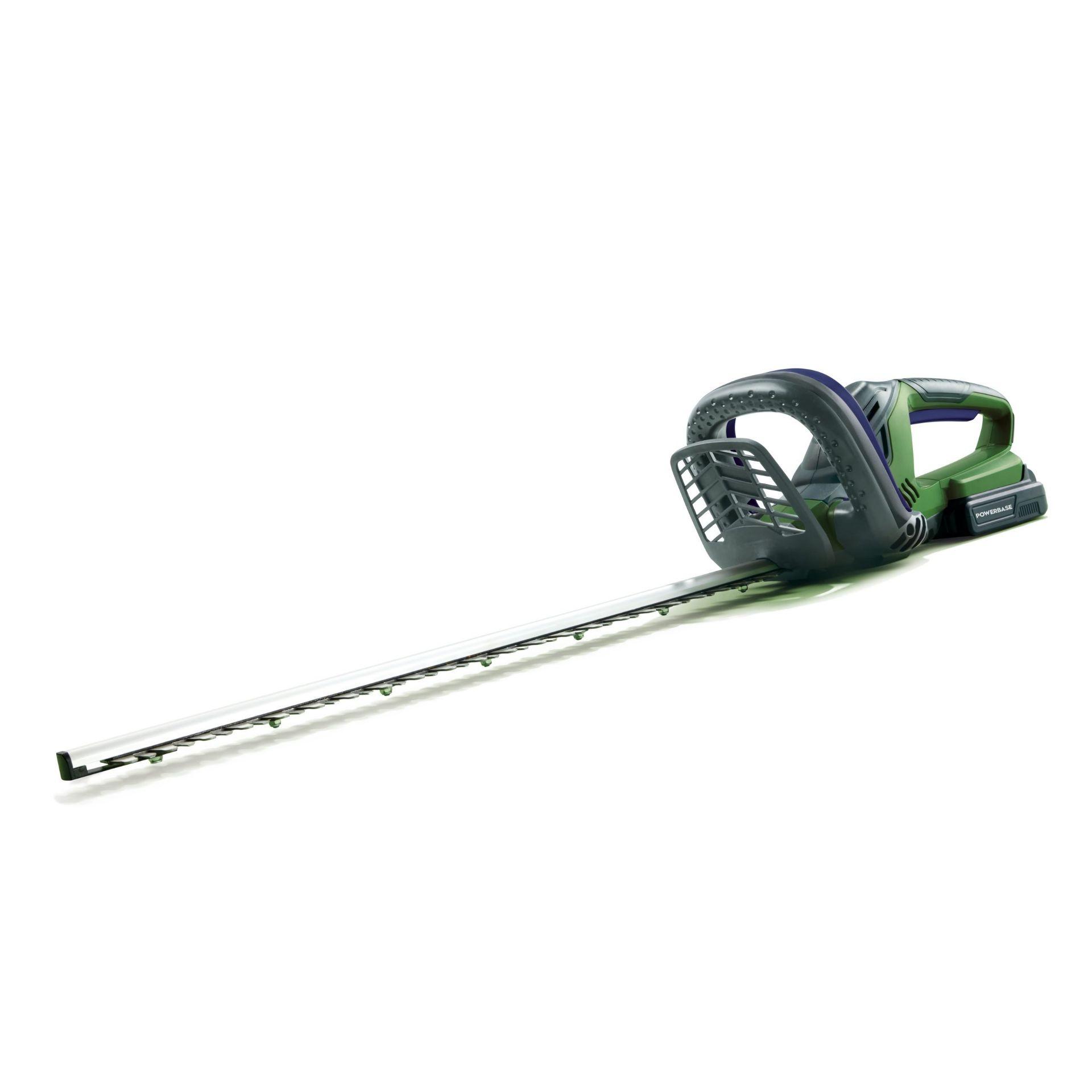 (P9) 2x Items. 1x Qualcast 25.4cc Petrol Grass Trimmer 38cm RRP £110. 1x Powerbase 51cm 20V Cordles - Image 2 of 4