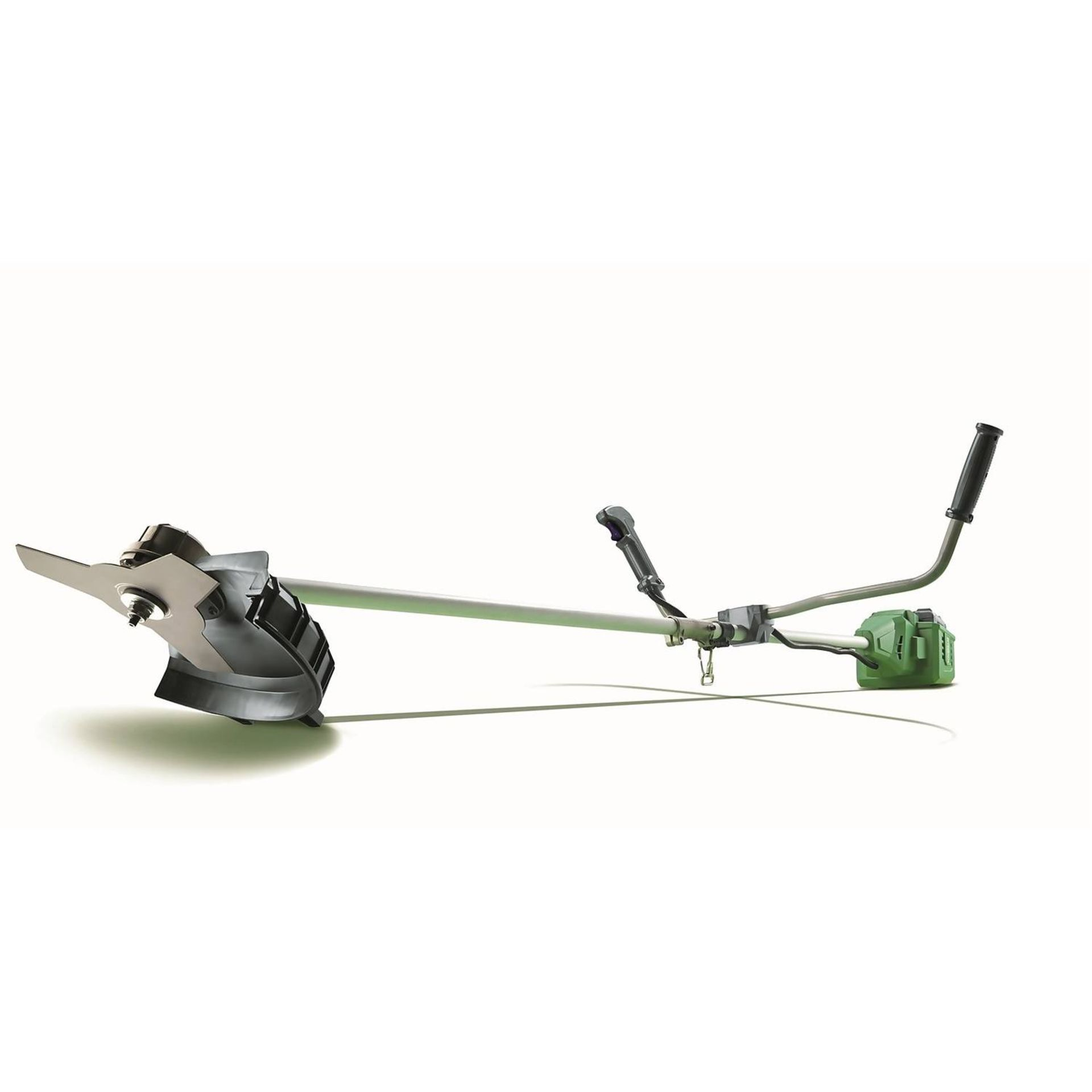 (P9) 1x Powerbase 34cm 40V Cordless Brush Cutter RRP £129. Contents Appear Clean, Unused With Batt