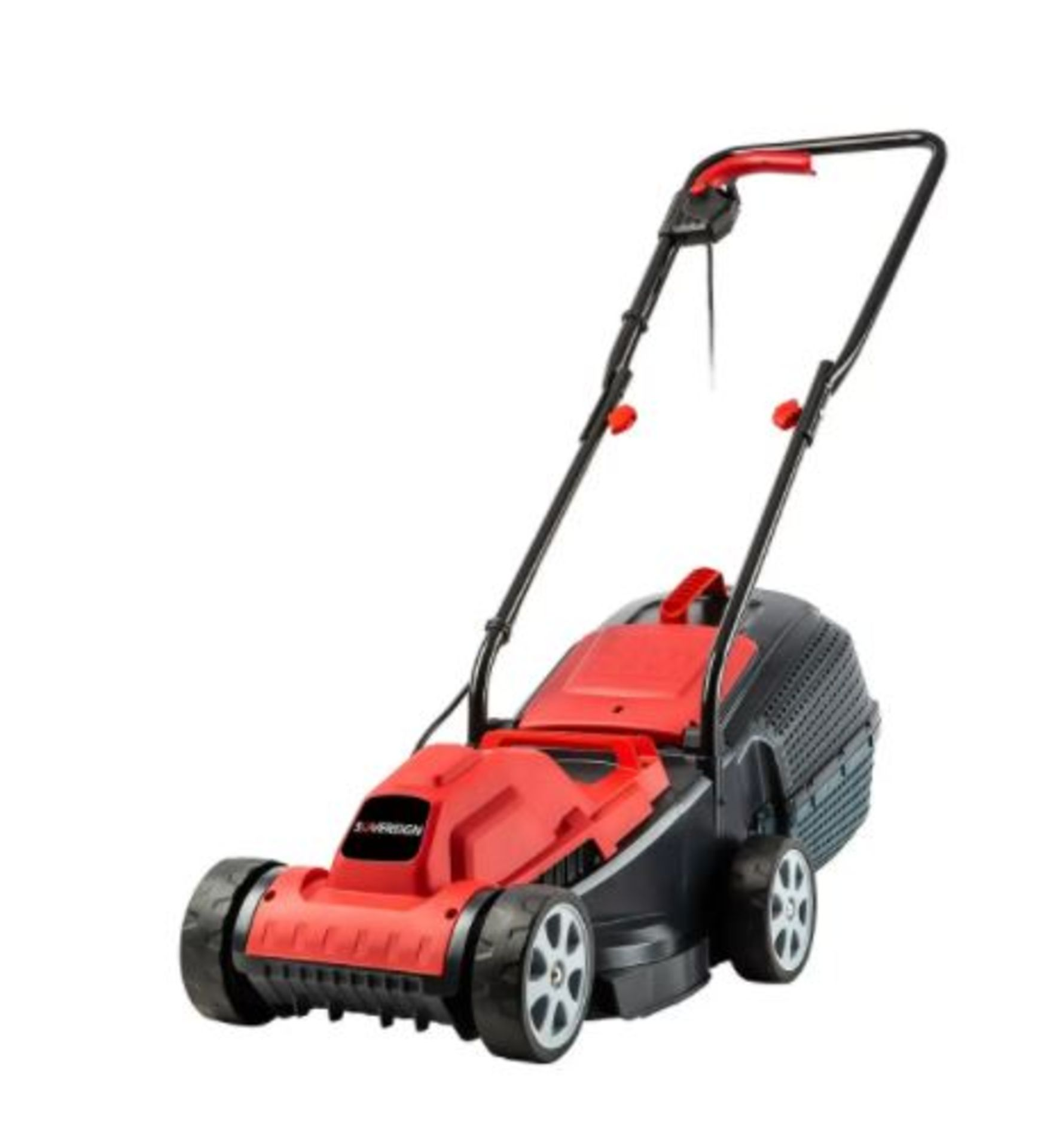(P6) 1x Sovereign 32cm 1200W Electric Rotary Lawn Mower RRP £50. New, Sealed Unit.