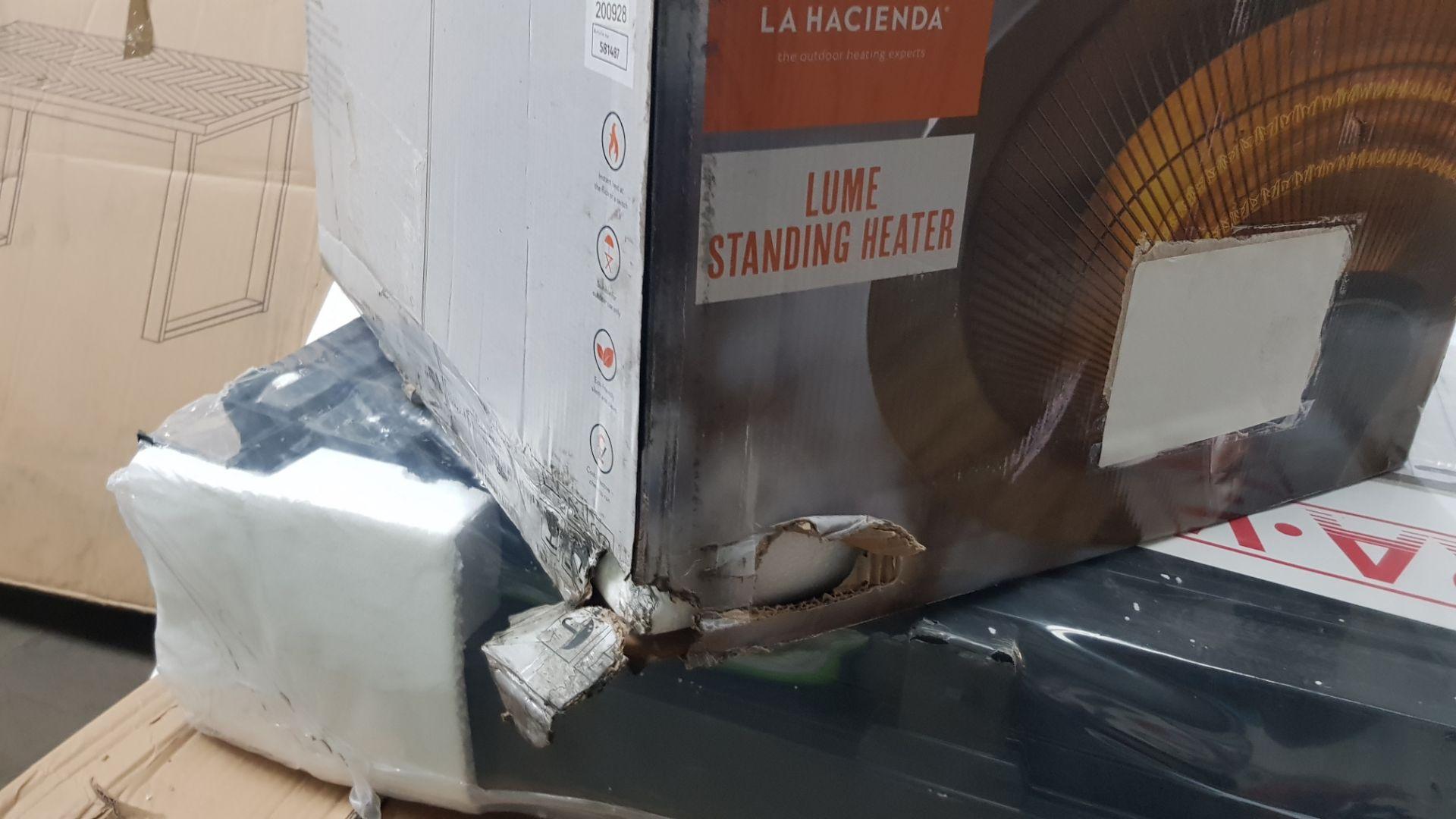 (P6) 1x La Hacienda Lume Standing Heater RRP £99.99 3 Heater Settings: 900W, 1200W & 2100W (H205x - Image 4 of 4