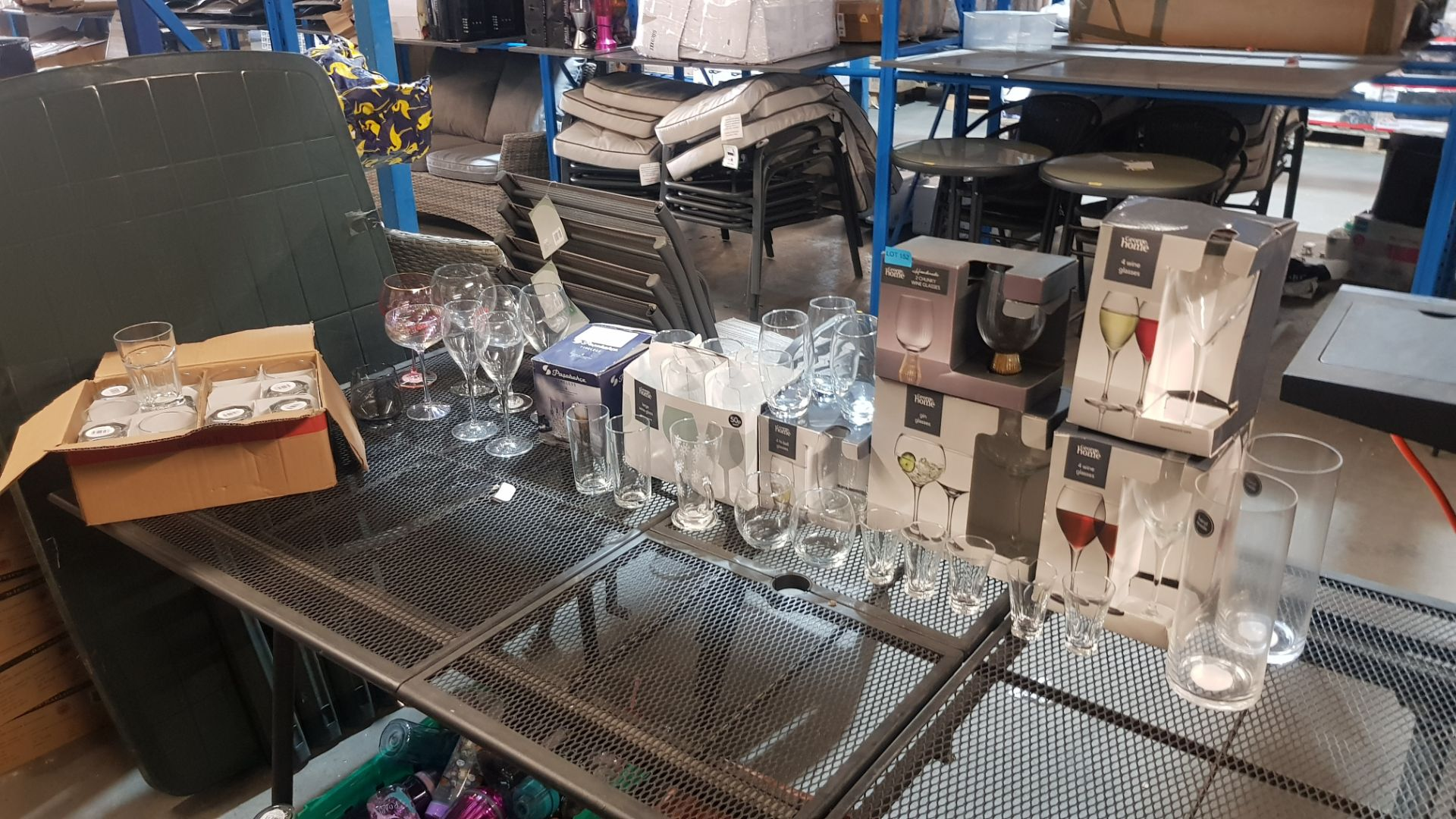 Glass Lot – Approx. 65x Items. To Include 16x Wine Glasses. 3x Large Gin Glasses. 12x Soda Glasses. - Image 5 of 21