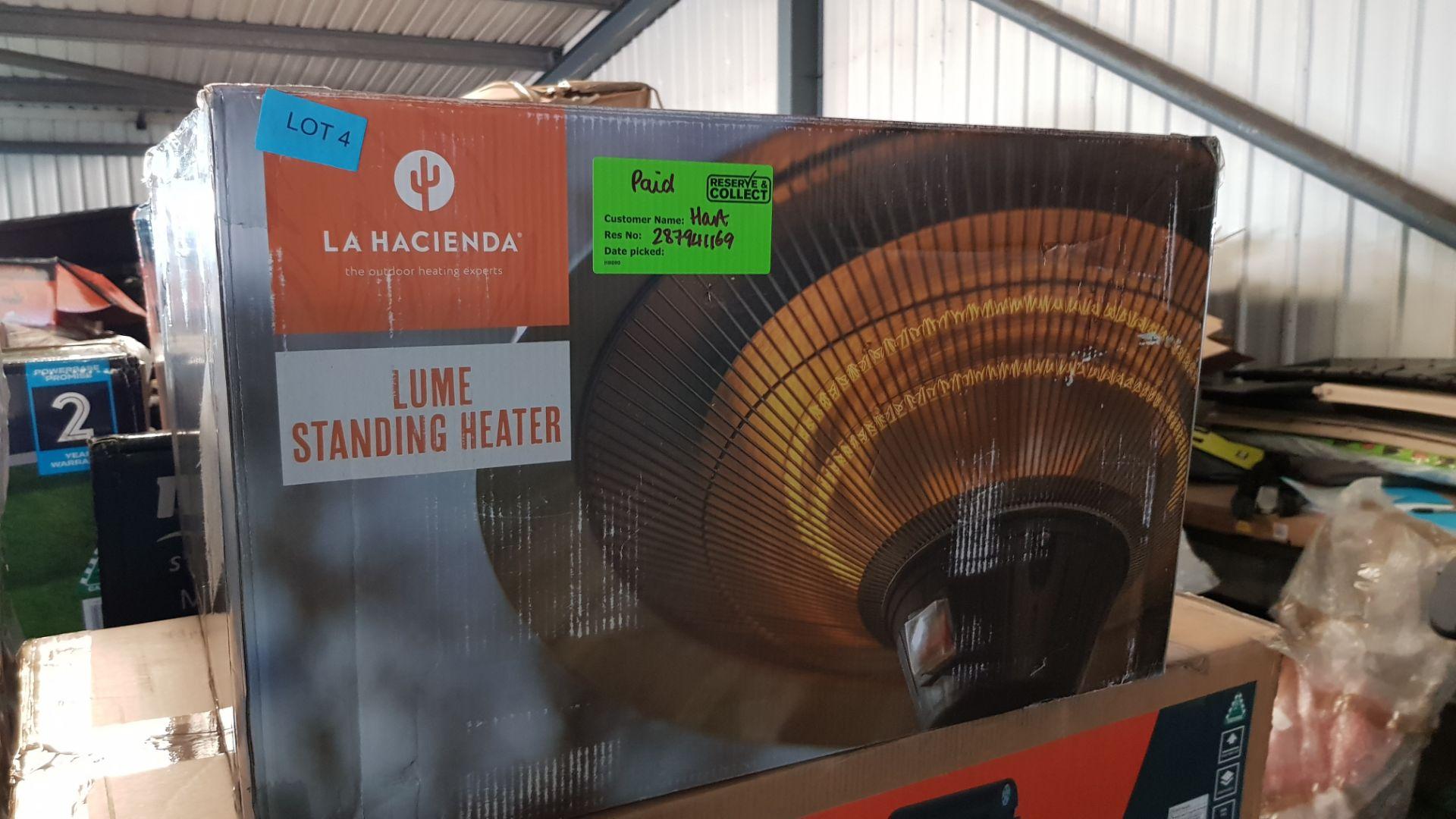 (P8) 1x La Hacienda Lume Standing Heater RRP £99.99. 3 Heater Settings: 900W, 1200W & 2100W (H205 - Image 3 of 3