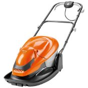 (P9) 1x Flymo Easiglide 300 RRP £99. Electric Hover Collect Lawnmower.