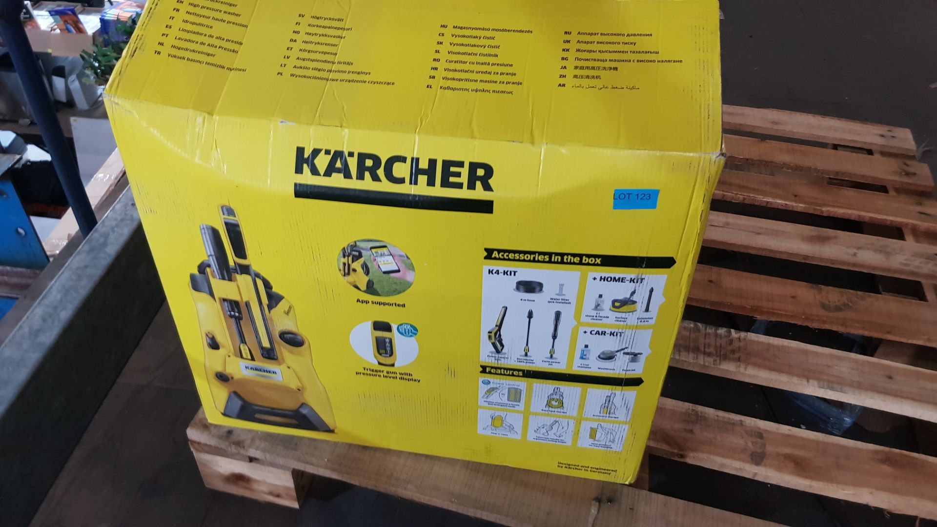 (P2) 1x Karcher K4 Power Control High Pressure Washer. RRP £199.99. - Image 3 of 3