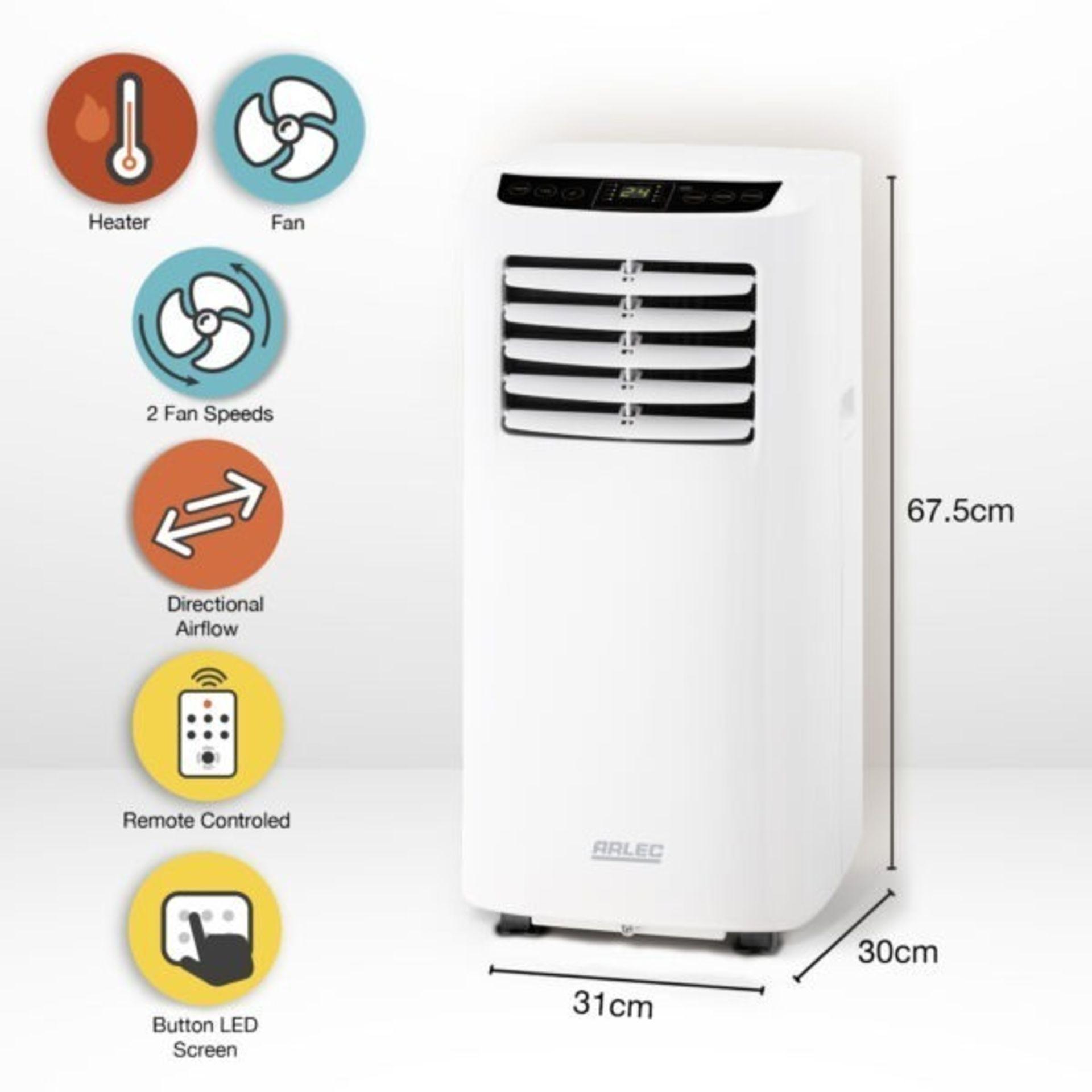 (P2) 1x Arlec Portable Air Conditioner 8000 BTU/h. RRP £400.00. - Image 2 of 3