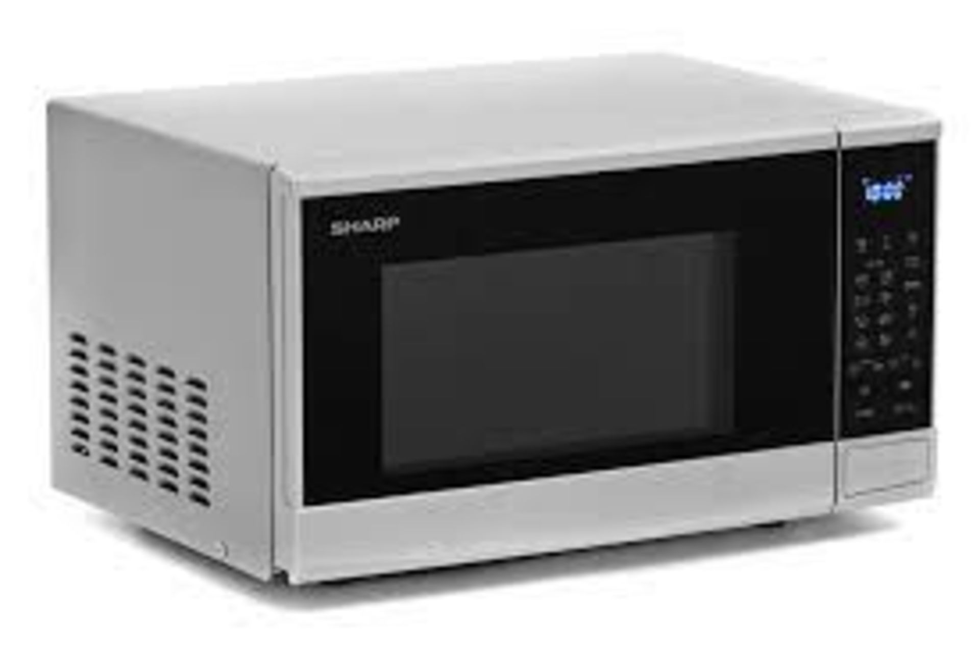 (15) 1x Sharp Microwave Oven Silver RRP £80. 800W, 20L, Weight / Time Defrost, Child Lock & Kitchen - Image 2 of 10
