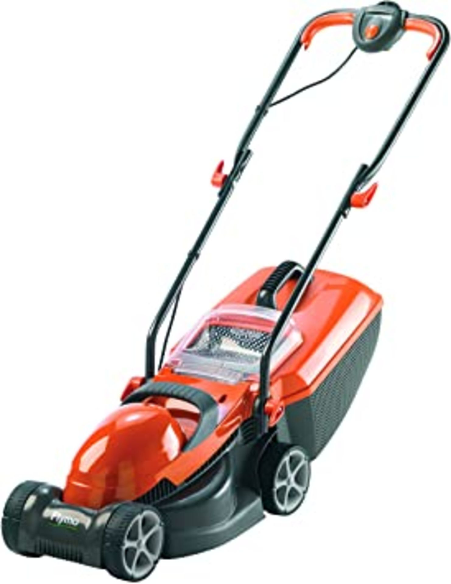 (P8) 2x Flymo Items. 1x Chevron 32V Electric Wheeled Lawnmower. 1x Contour 500E 3 In 1 Trimmer.