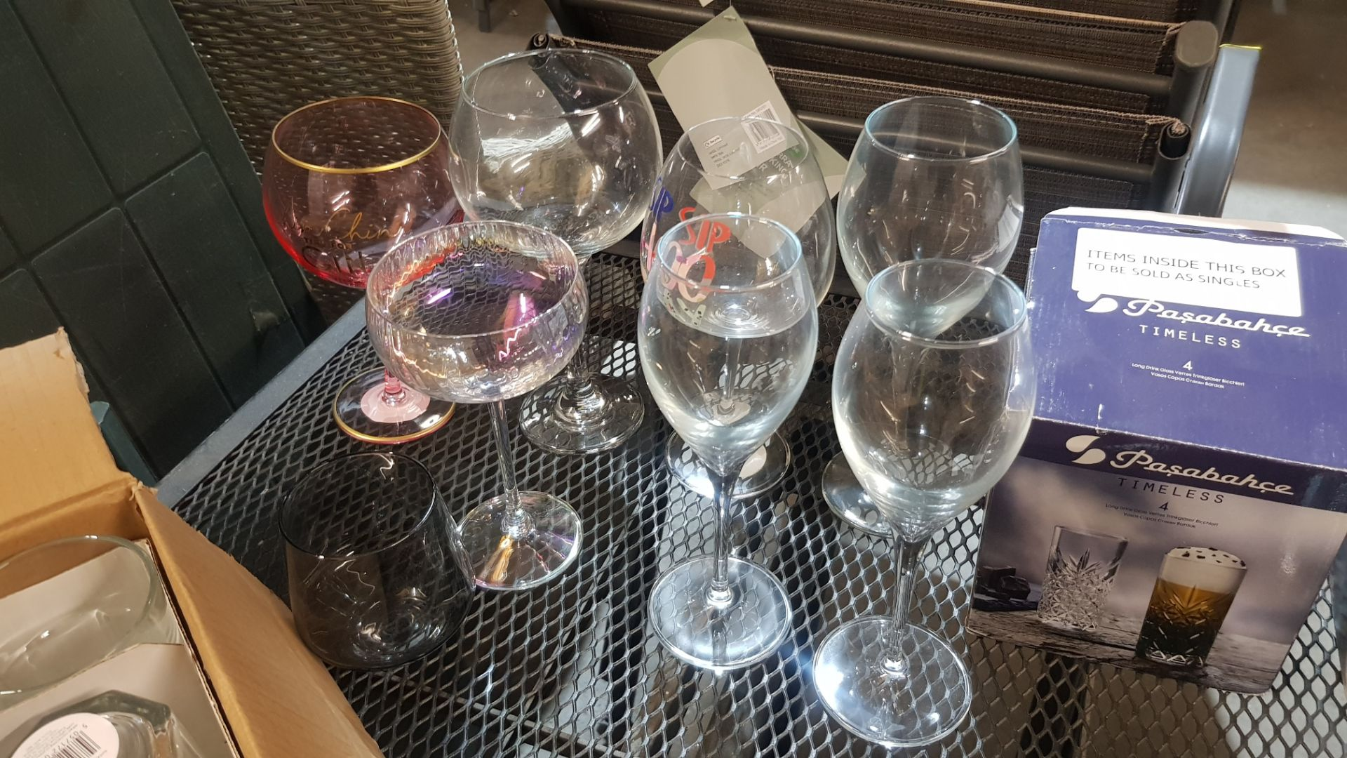 Glass Lot – Approx. 65x Items. To Include 16x Wine Glasses. 3x Large Gin Glasses. 12x Soda Glasses. - Image 8 of 21