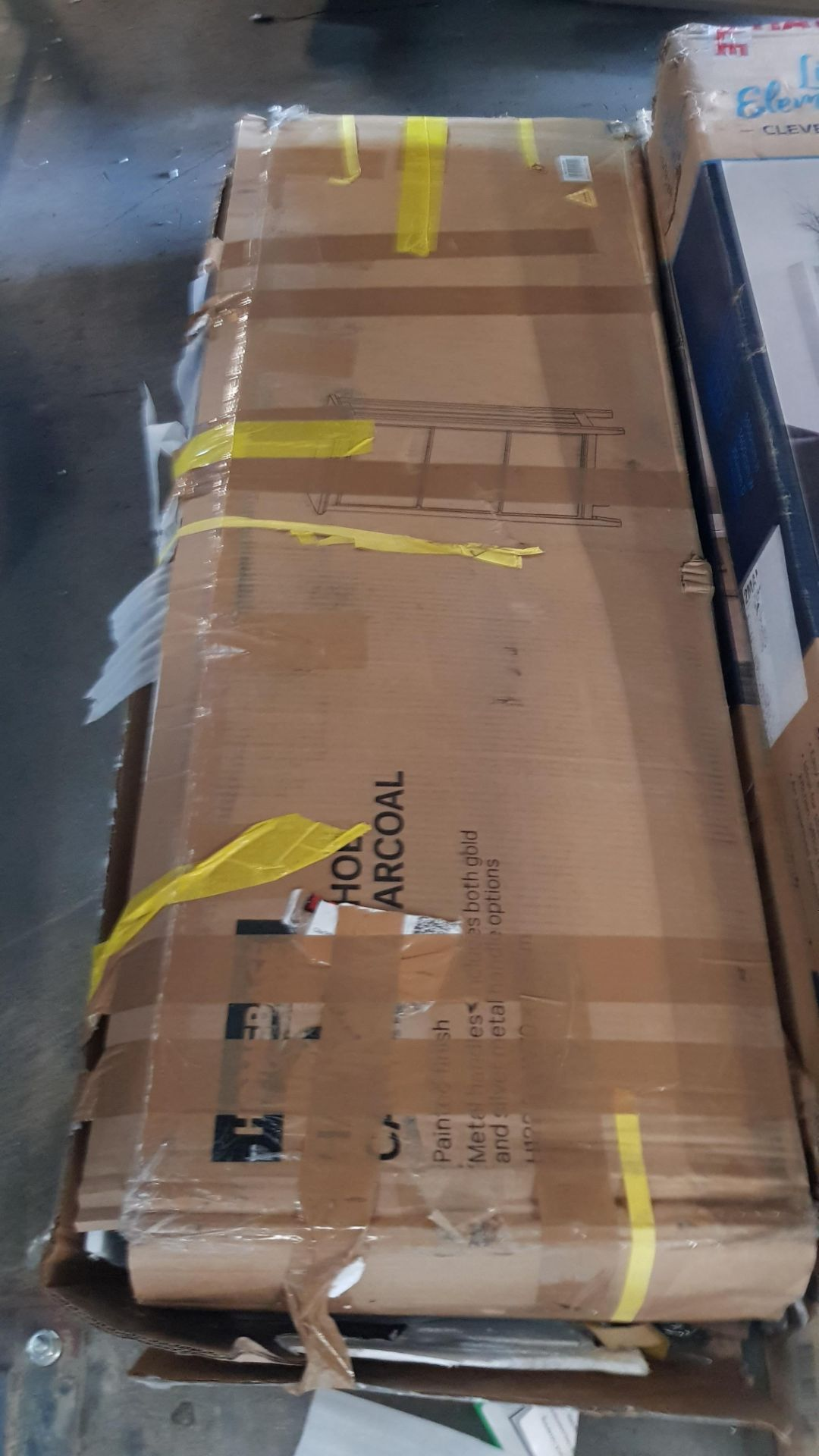 (2K) 4x Items. 1x Hamilton Shoe Cabinet Charcoal. 1x Hamilton Hallway Cabinet Navy (H76x W70x D32.5 - Image 8 of 8