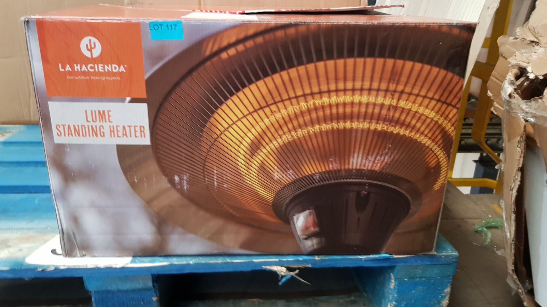 (P3) 1x La Hacienda Lume Standing Heater (H205x D50x Base D40.5cm) - Image 2 of 3