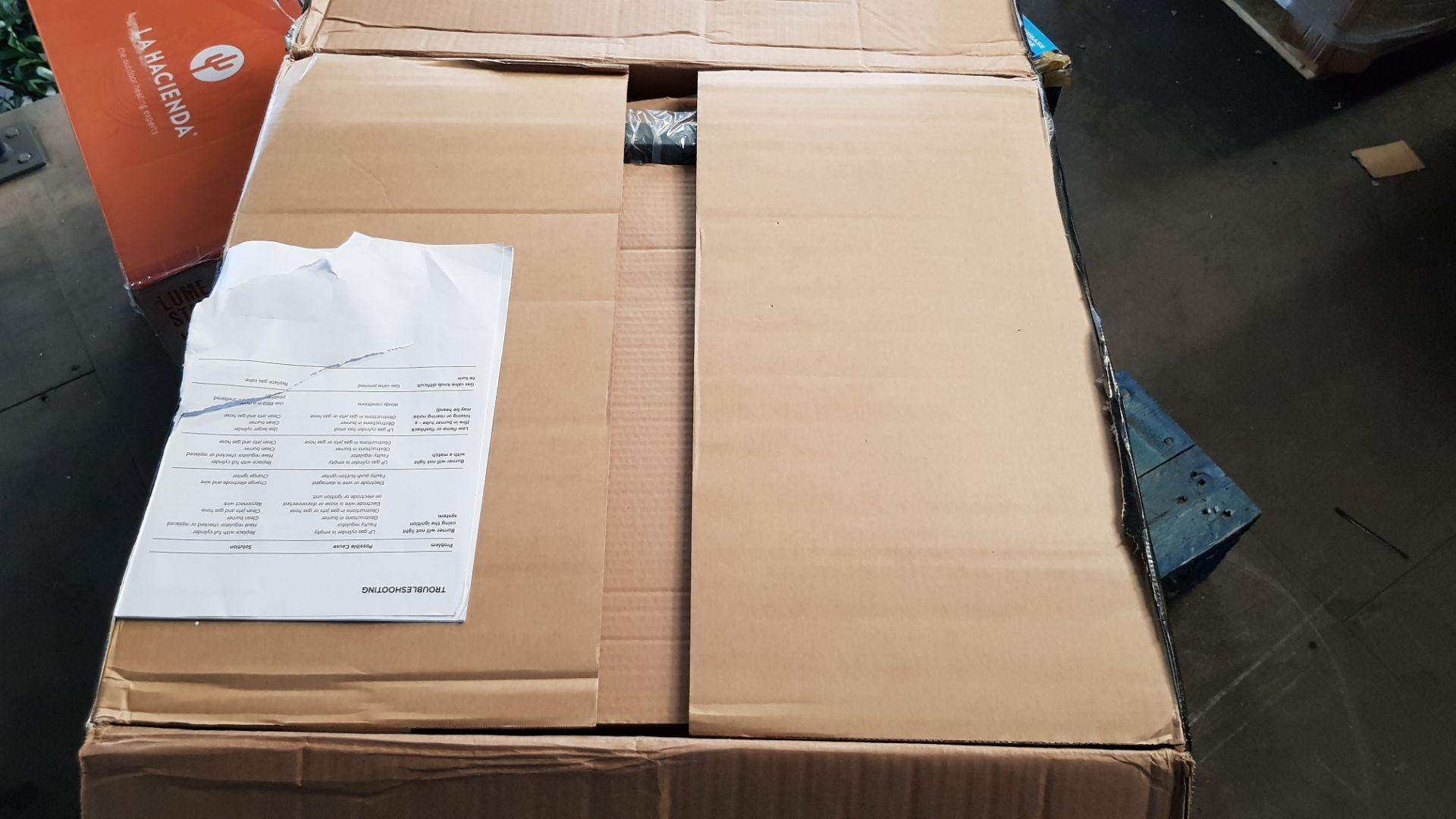 (P8) 1x Texas Nimbus 2 Burner Gas BBQ RRP £80. Contents Appear As New – Unused & Not Previously Re - Image 4 of 6