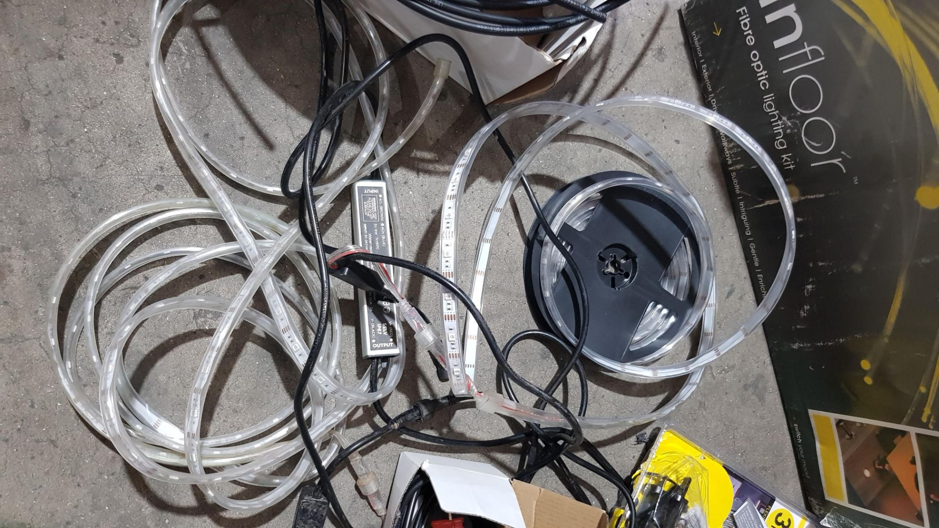 (3F) Fibre Optic / LED Lighting Lot. To Include 1x Optic Lighting InFloor Fibre Optic Lighting Kit. - Image 9 of 12