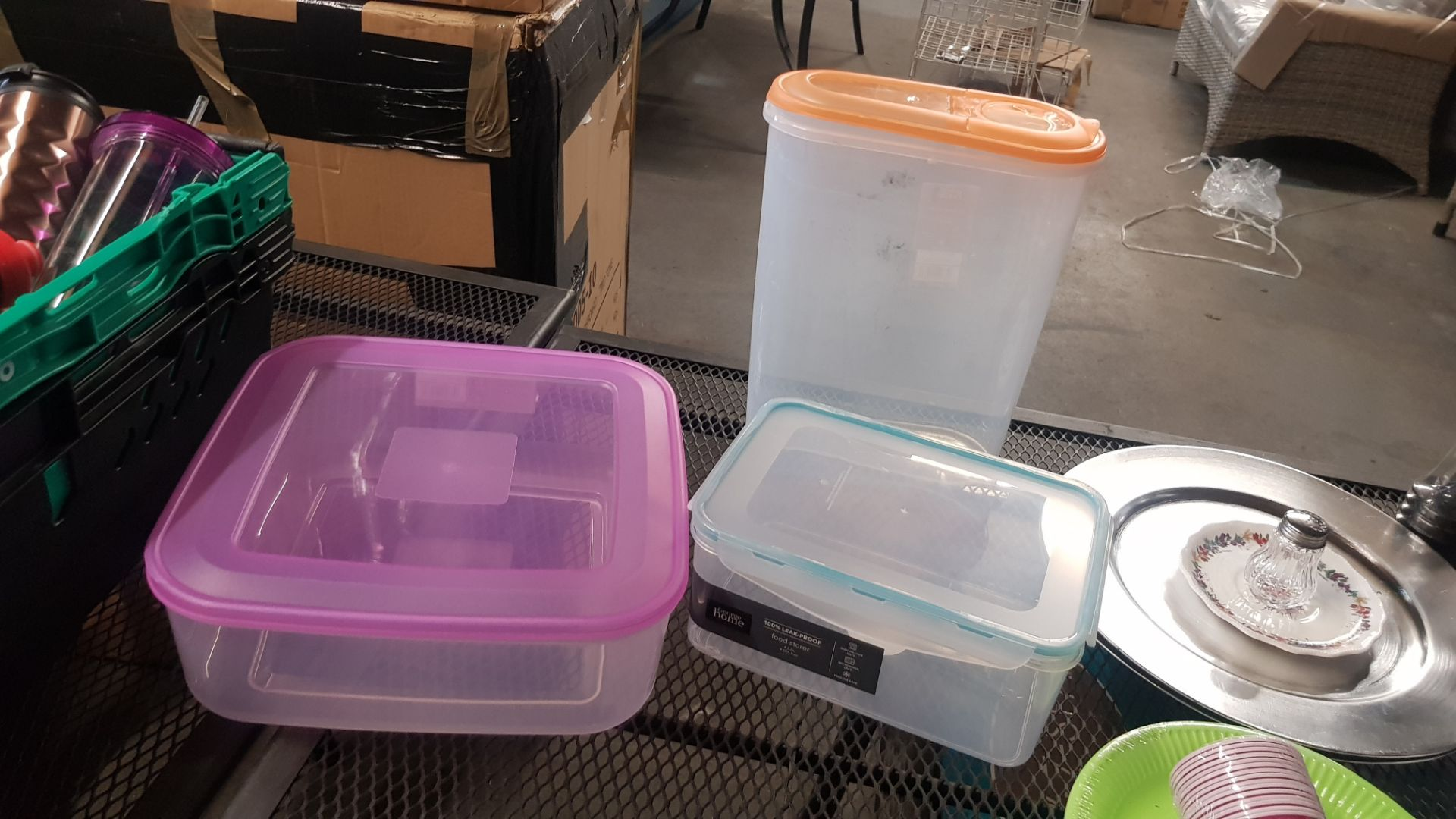 Jobbers Mixed Lot. To Include Plastic & Thermos Drinking Vessels. Plastic Storage Containers. Mixed - Image 5 of 21