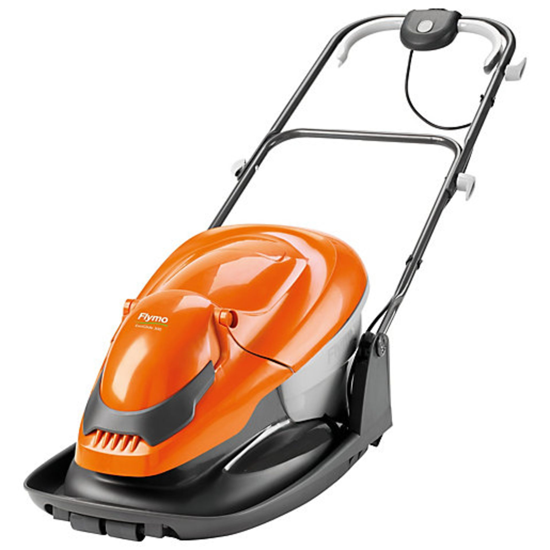 (P8) 1x Flymo EasiGlide 300 RRP £99. Hover Collect Lawnmower. New, Sealed Item.
