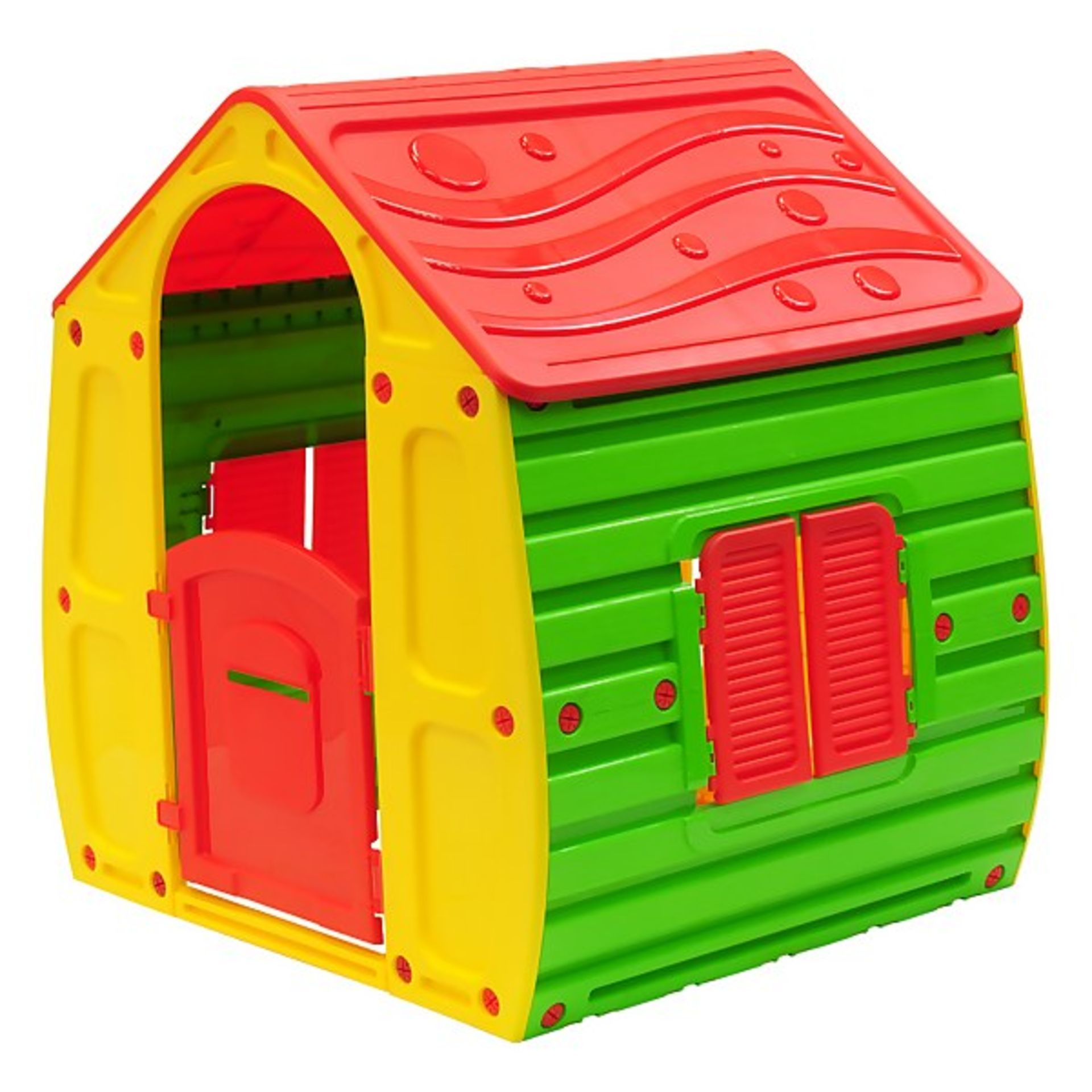 (P2) 1x Starplast Magical House (102x 90x H109cm) - Image 2 of 4