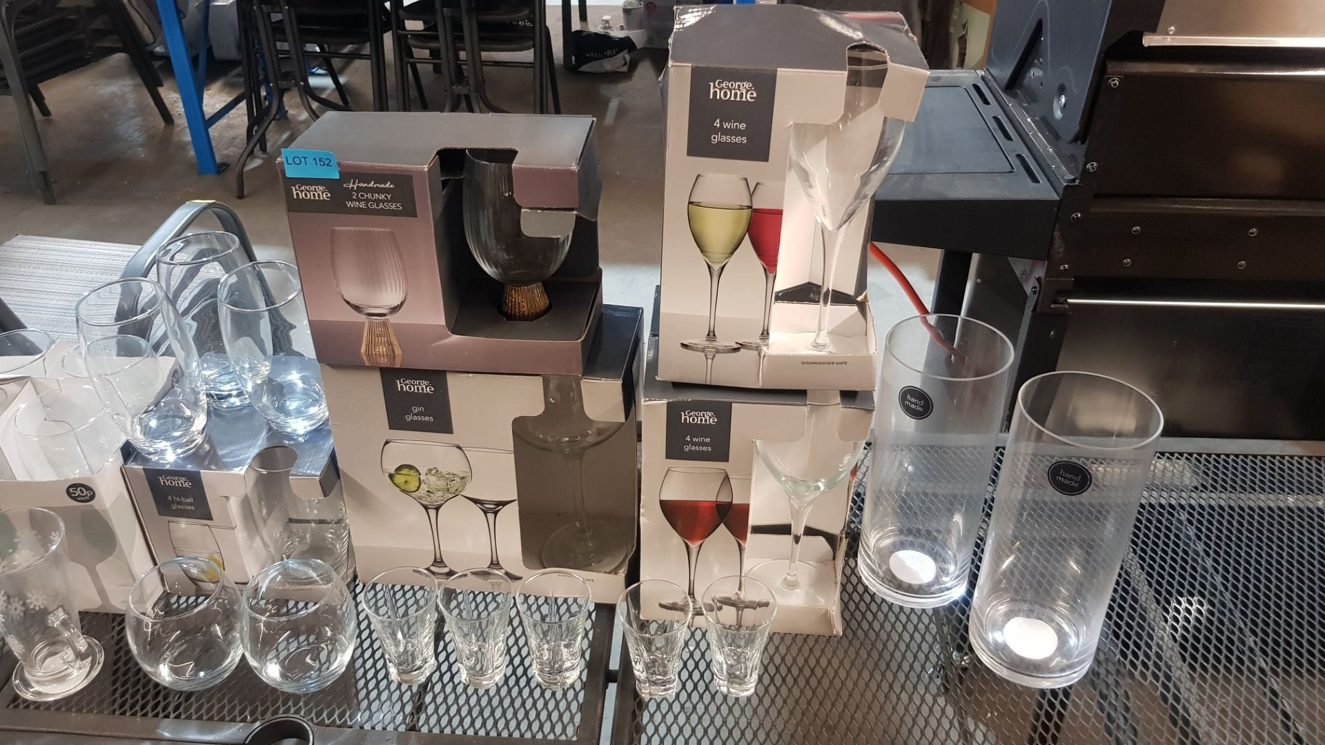 Glass Lot – Approx. 65x Items. To Include 16x Wine Glasses. 3x Large Gin Glasses. 12x Soda Glasses. - Image 6 of 21