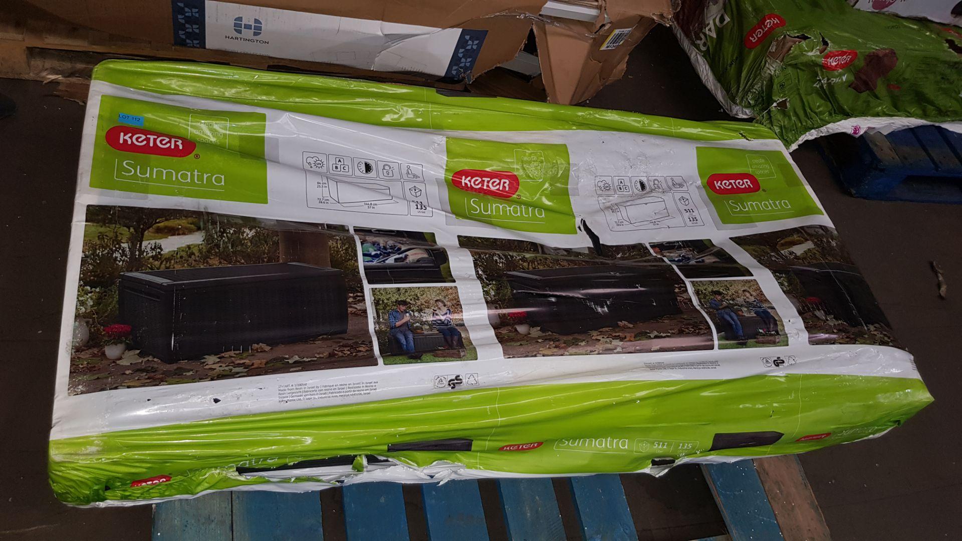 (P4) 1x Keter Sumatra 511L. RRP £149.95. - Image 3 of 3