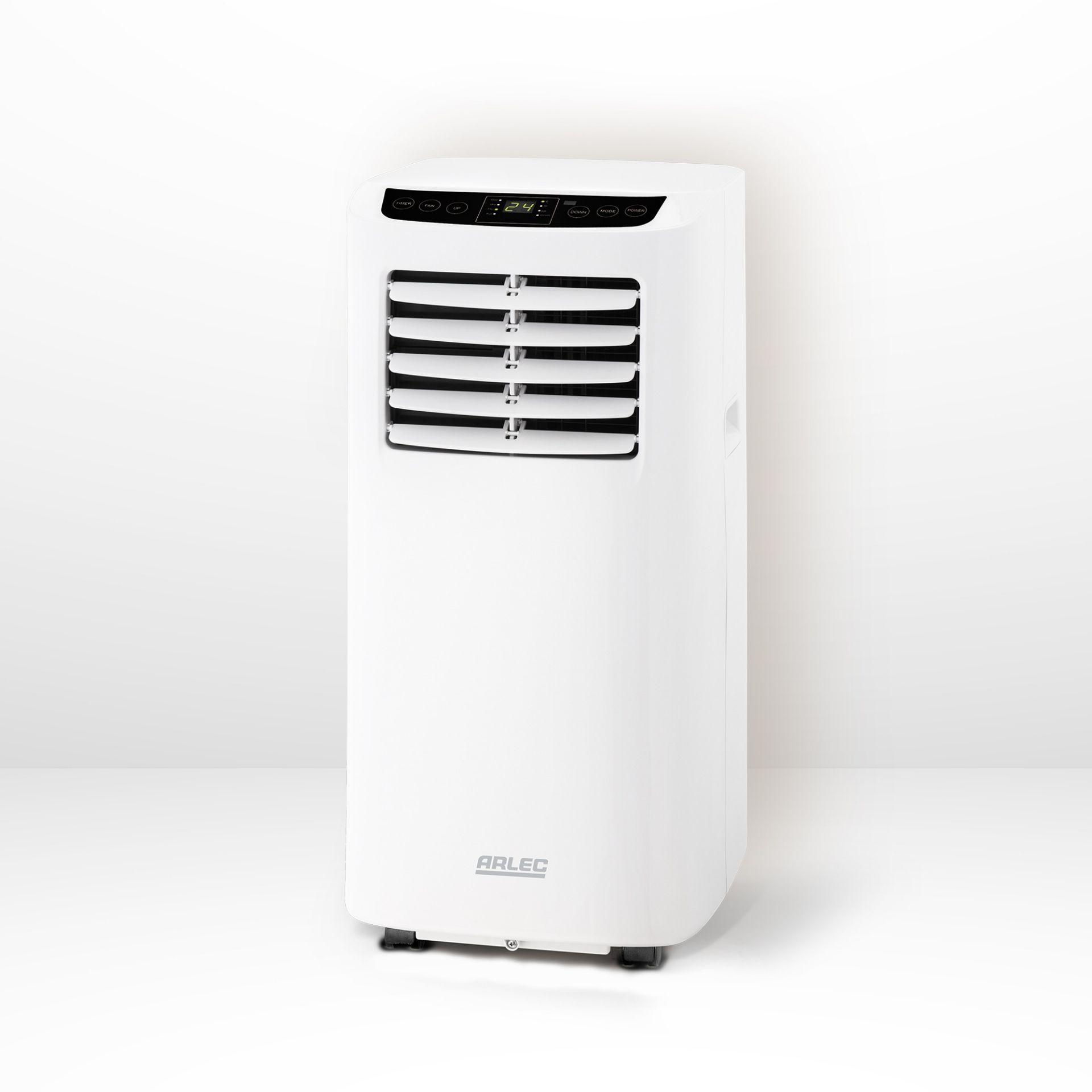 (P2) 1x Arlec Portable Air Conditioner 8000 BTU/h. RRP £400.00.