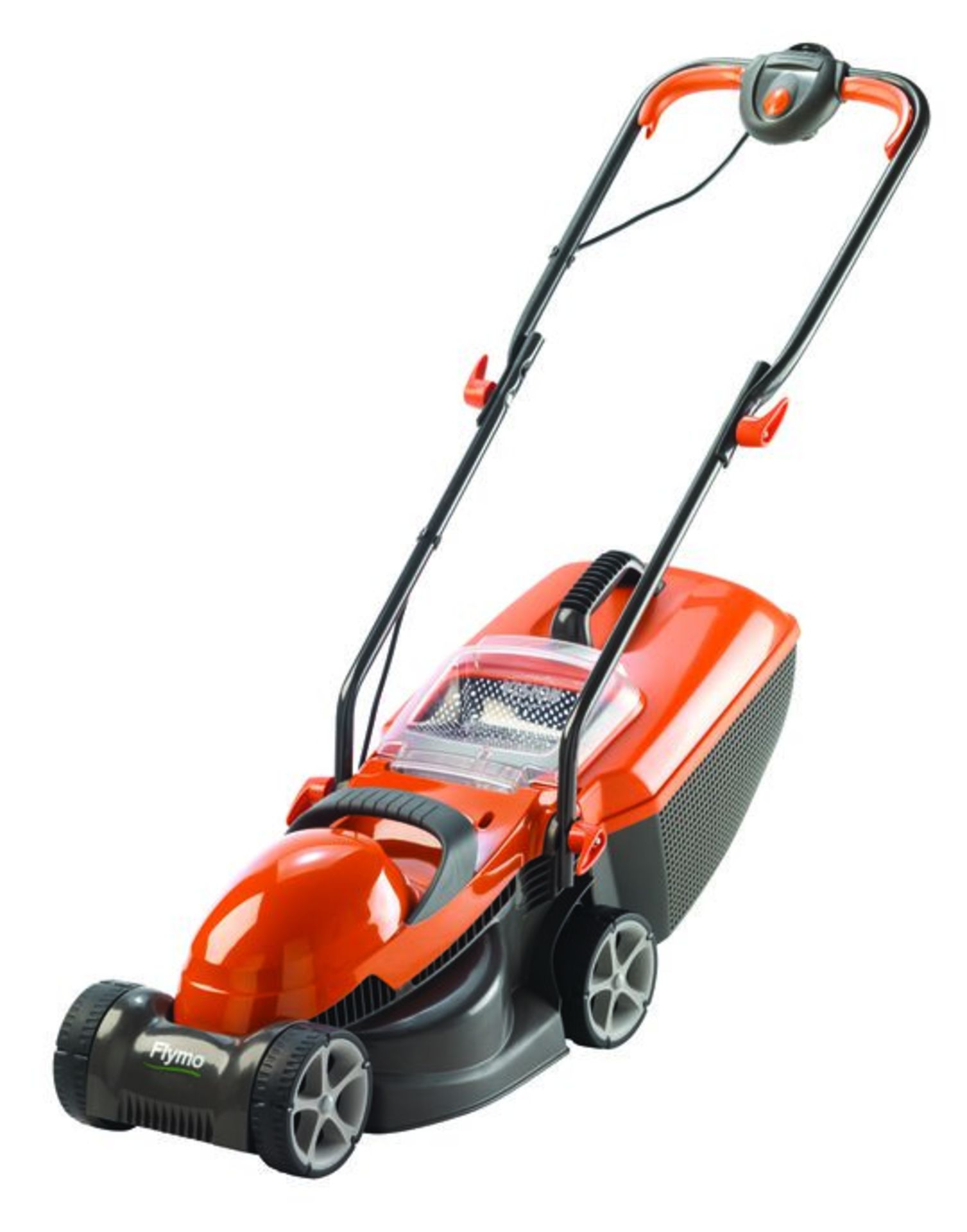 (3E) 4x Flymo Items. 3x EasiGlide 360V Electric Hover Collect Lawnmower. 1x Chevron 32V Electric Wh - Image 2 of 3