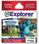 (13A) 16x Leap Frog Explorer Learning Game RRP £12 Each. Pre K 1st Grade Problem Solving Disney Pix