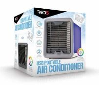 5x Red5 USB Portable Air Cooler Colour Changing Mood Light RRP £19.99 Each. (Units Have RTM Sticker