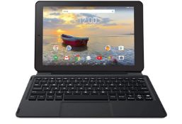 (13A) RCA Viking Pro 10 2 In 1 Tablet. 32GB Quad Core Laptop With Touchscreen And Detachable Keybo
