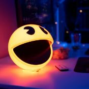 (R15) 4x Pac Man Colour Changing Sound Effect Lamp. (All With RTM Sticker).