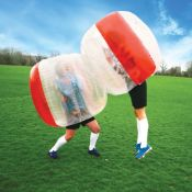 (14A) A Quantity Of Abzorba Ball / Dual Battle Inflatable Game (No Boxes)