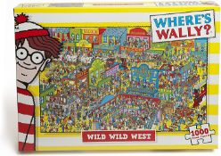 (15B) 8x Items. 1x Where's Wally? The Wild Wild West Puzzle. 1x Anne Stokes Clementoni Puzzle. 1x I