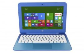 "(13A) 1x HP Stream Laptop Sky Blue RRP £249.99. 11.6"" 2GB RAM, 32GB ROM. Model (7265NGW) TPN-Q166."
