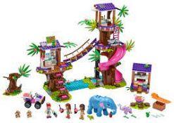 (15G) 2x Items. 1x Lego Friends Jungle Rescue Base RRP £74.99 (Model 41424). 1x Lego Friends Advent