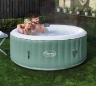 1x CleverSpa Cotswolds RRP £350. 4 Person Hot Tub. Unit Powers On And Inflates. Lot Includes Lid,